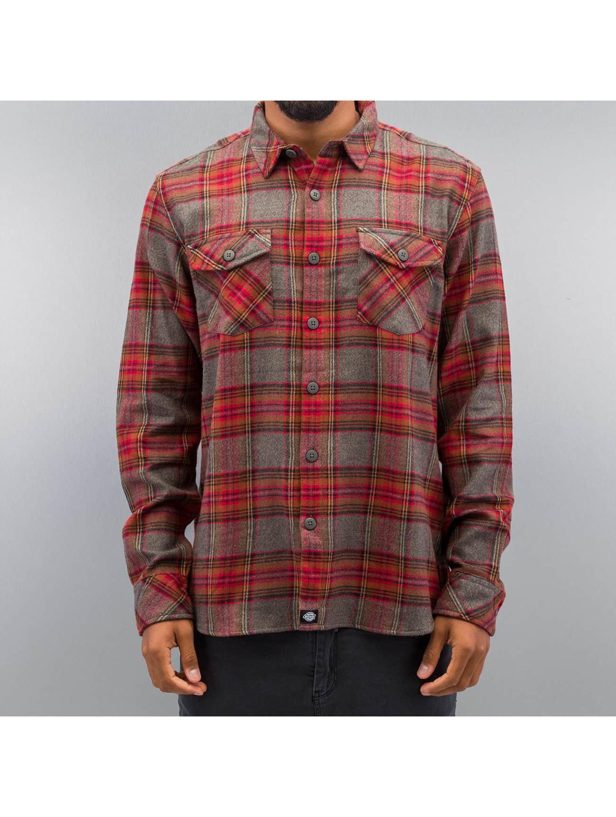 Dickies overhemd Wallace rood