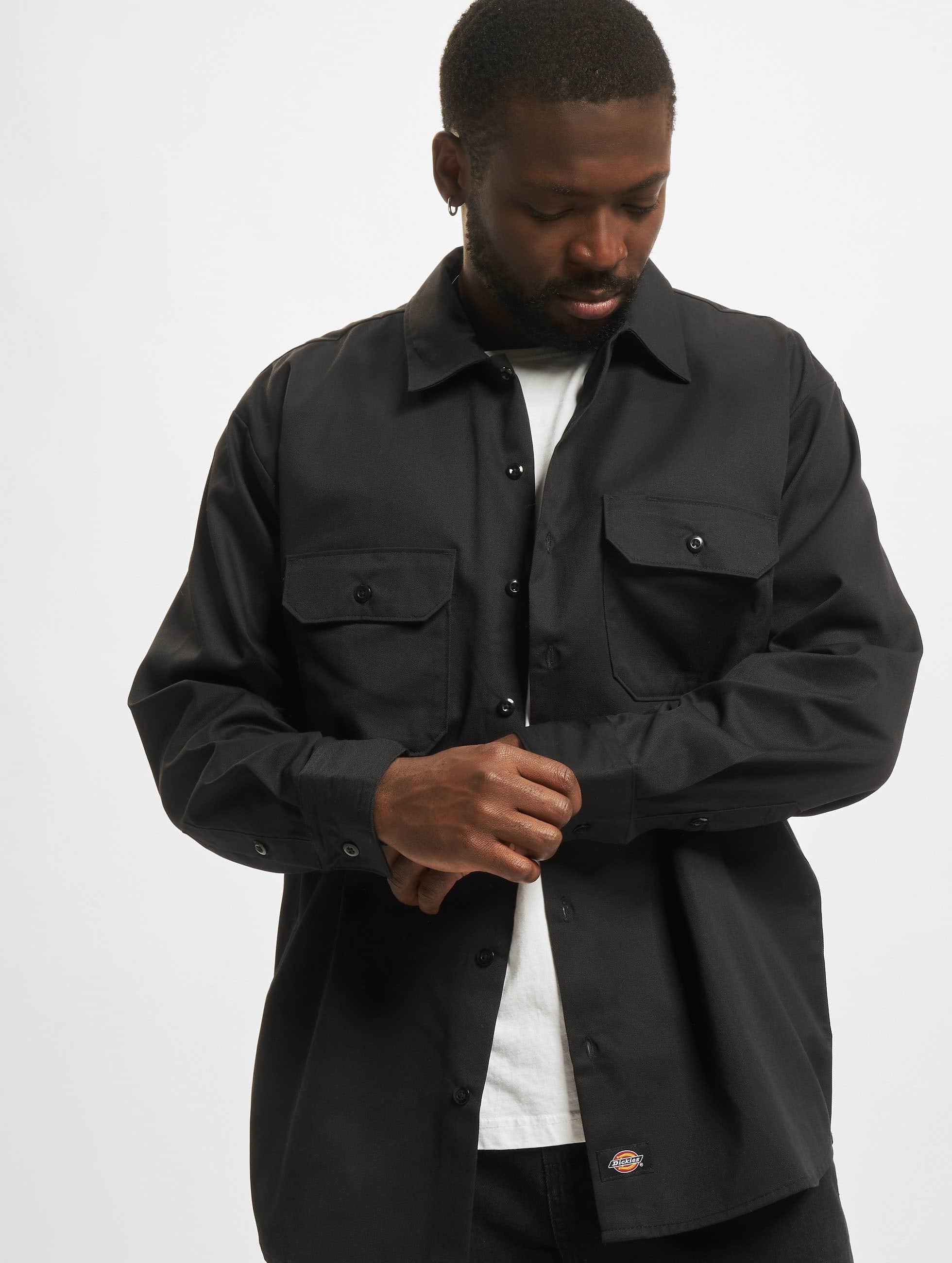 Dickies overhemd Longsleeve Work zwart