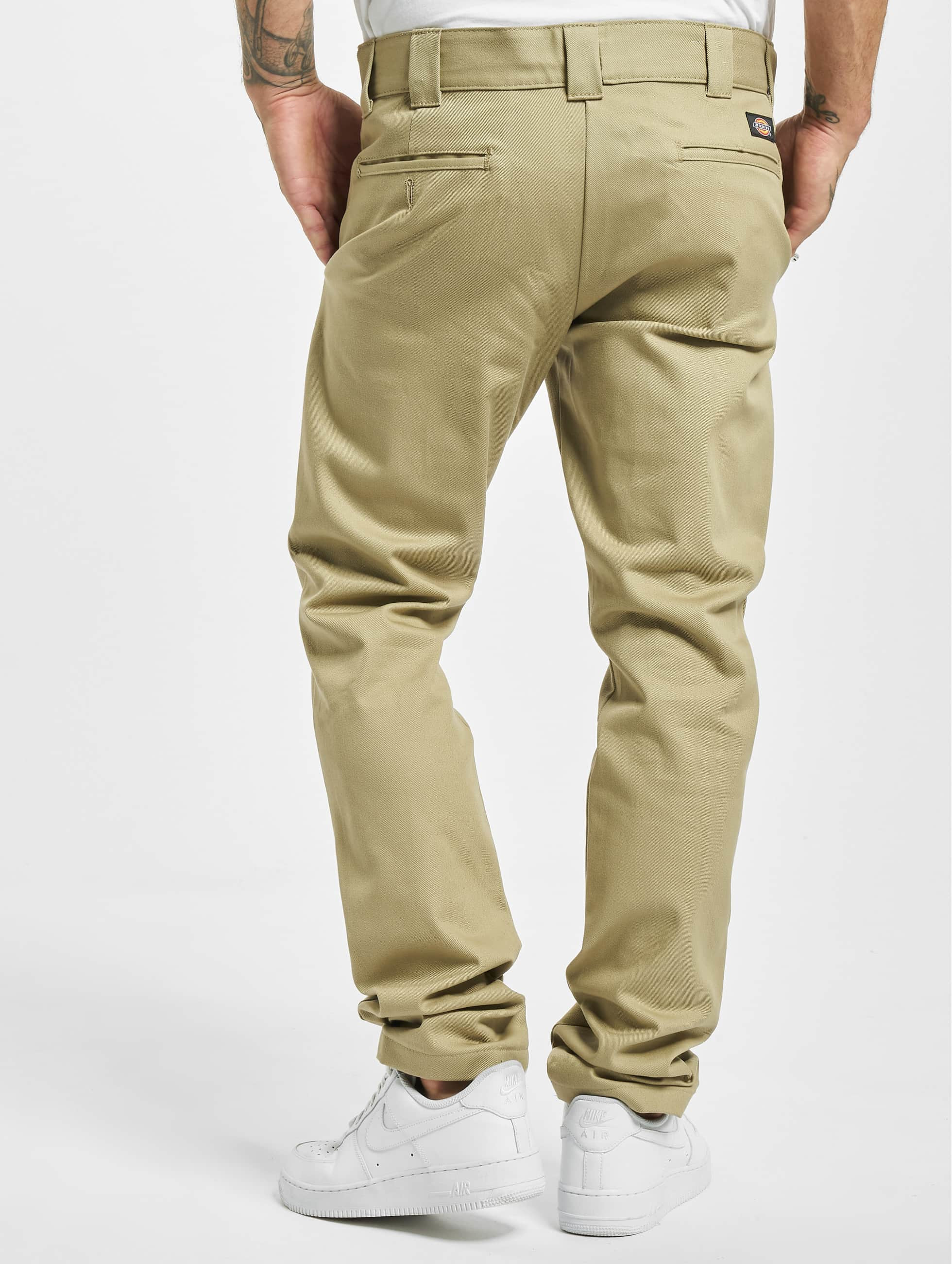 Dickies Pantalon chino Slim Skinny Work beige