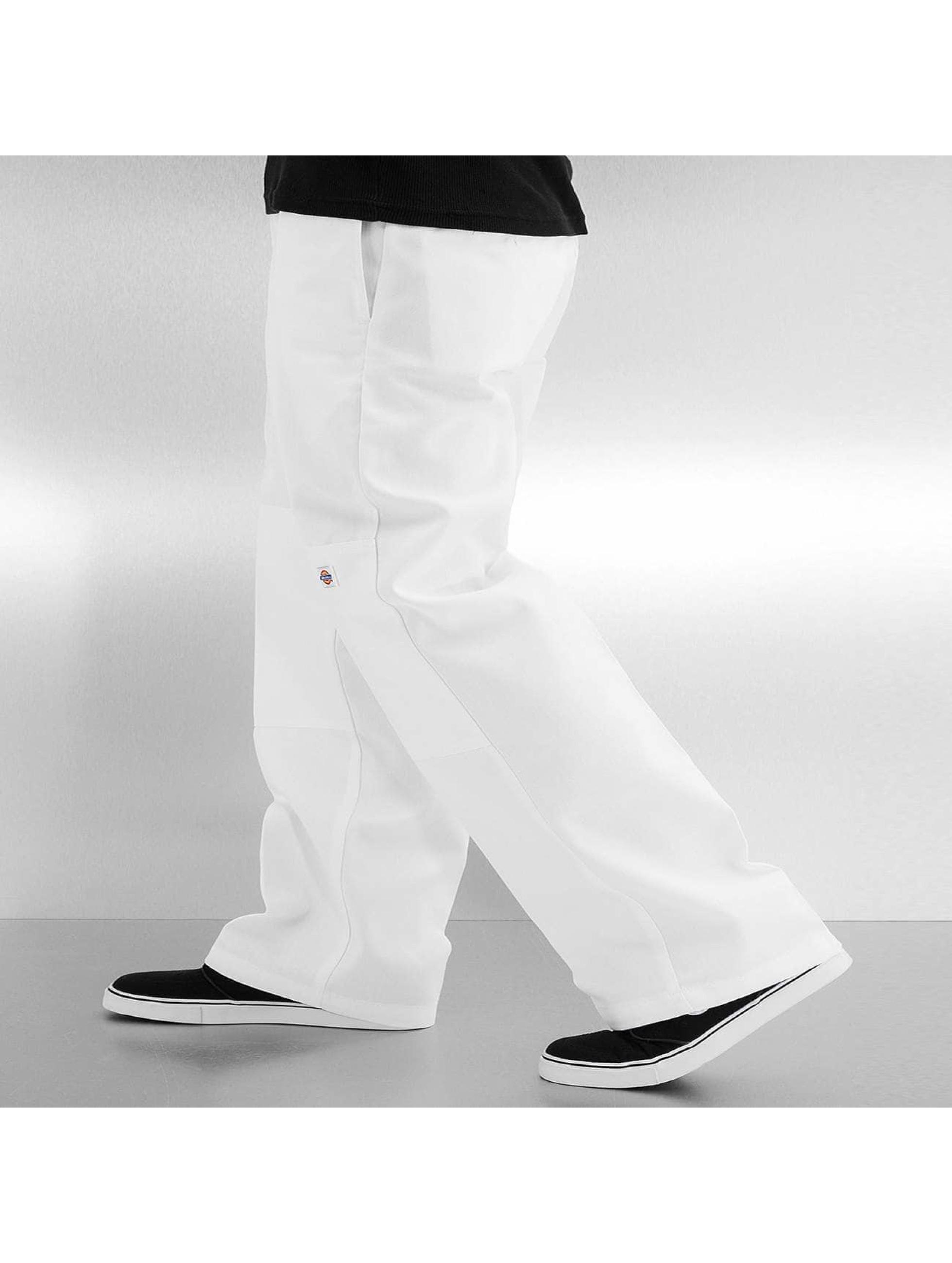 Dickies Pantalon chino Double Knee Work blanc
