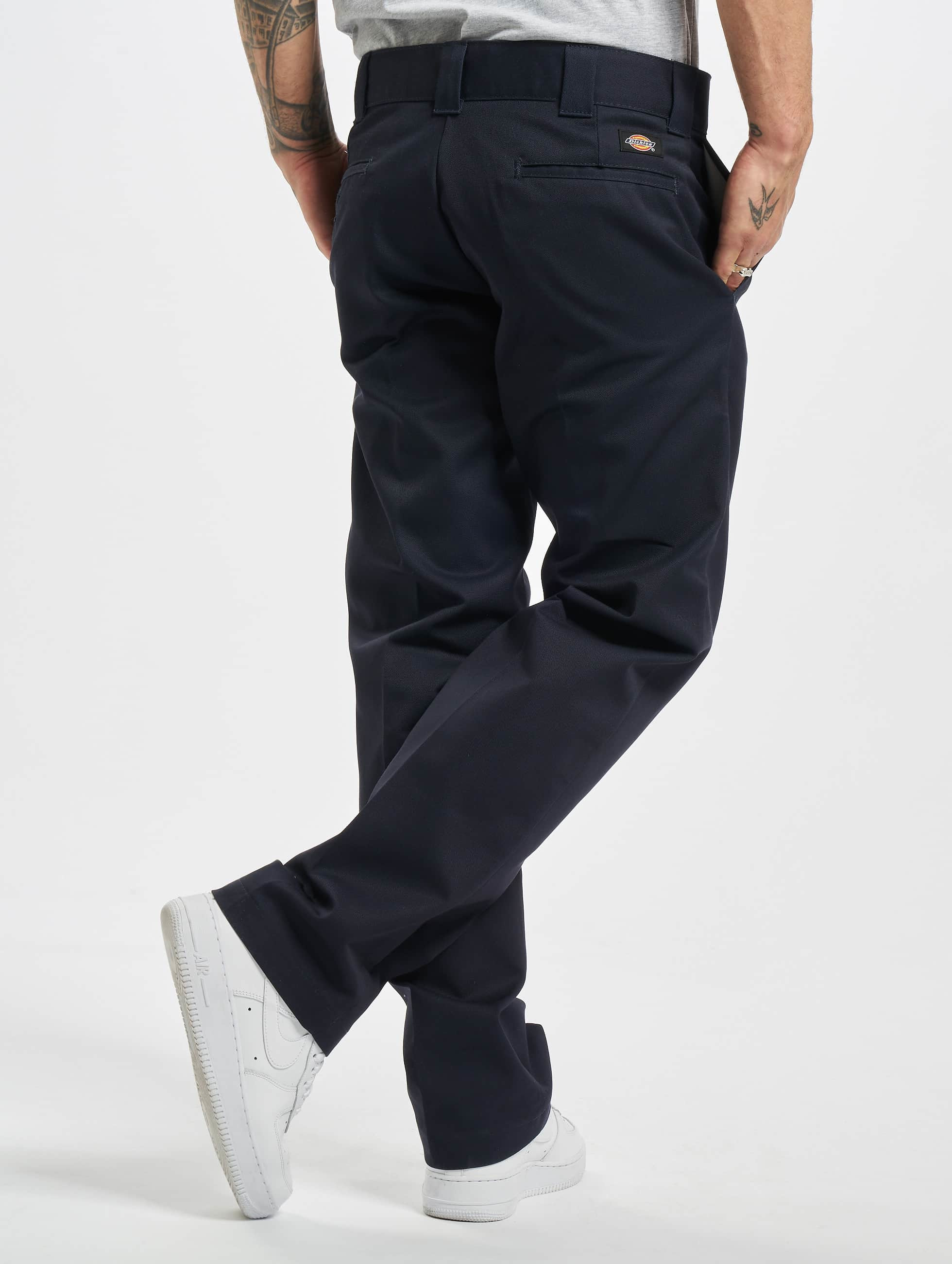 Dickies Pantalon chino Slim Straight Work bleu