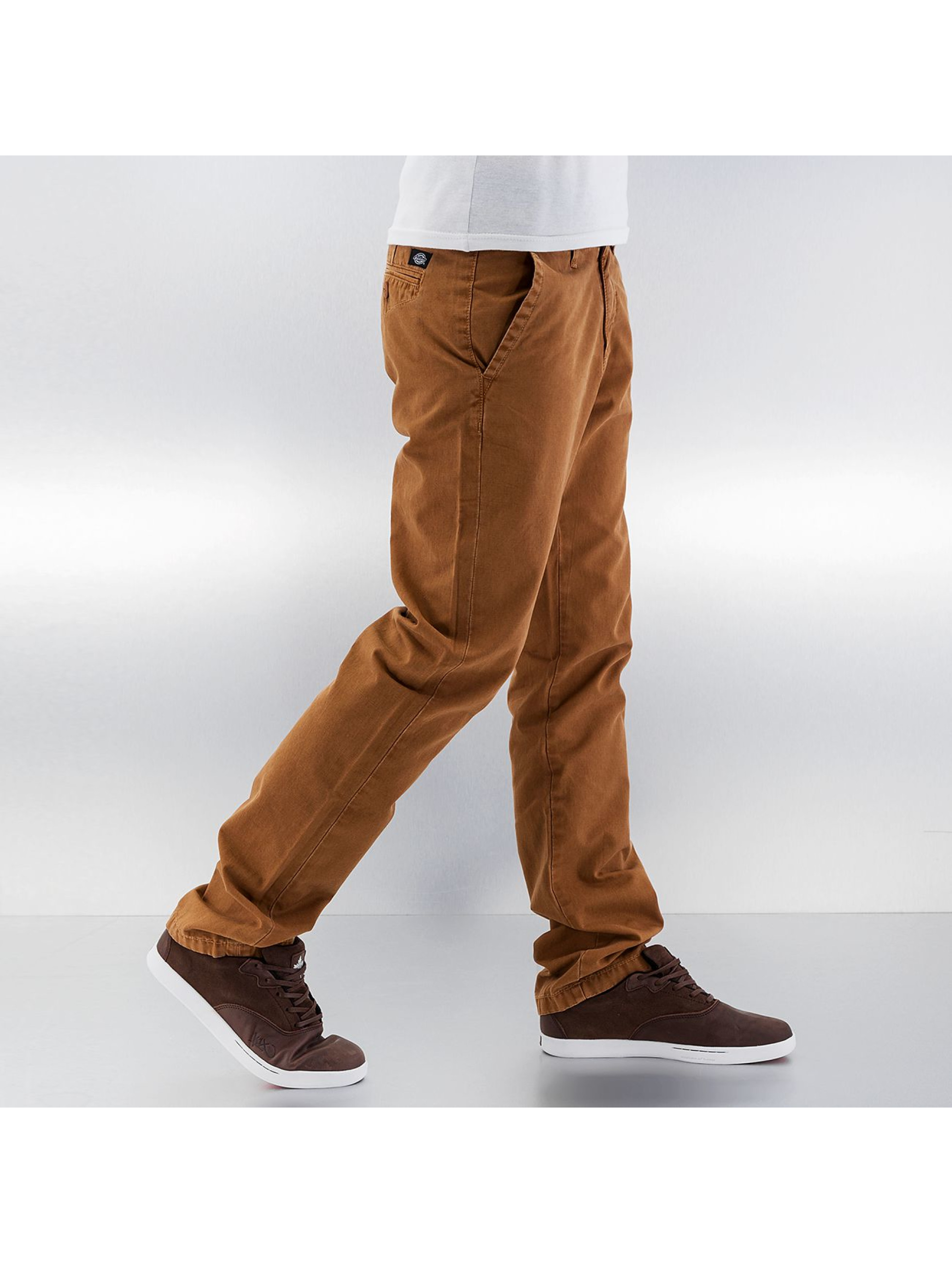 Dickies Pantalon chino Gaines brun