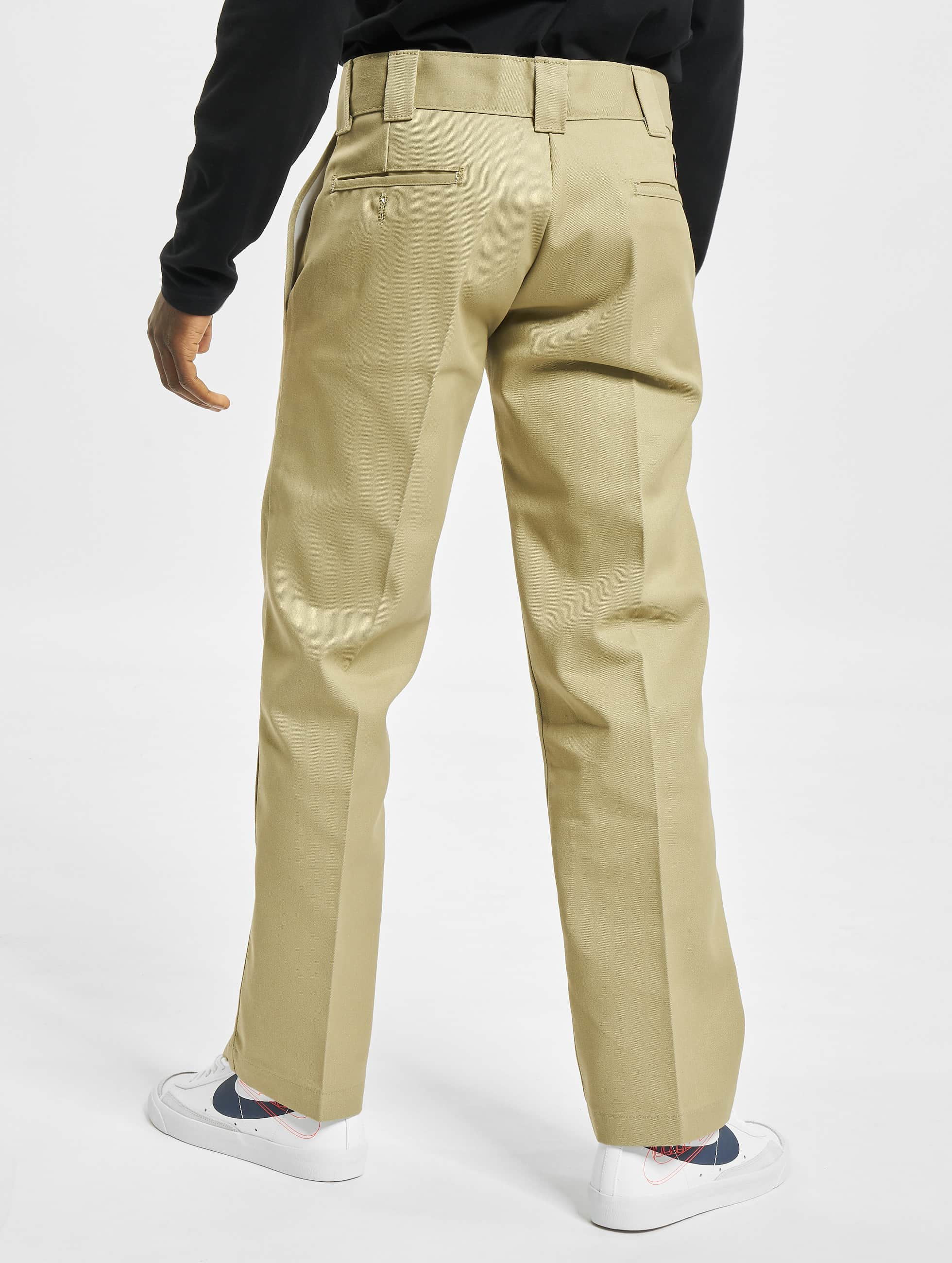 Dickies Pantalon chino Slim Straight Work kaki