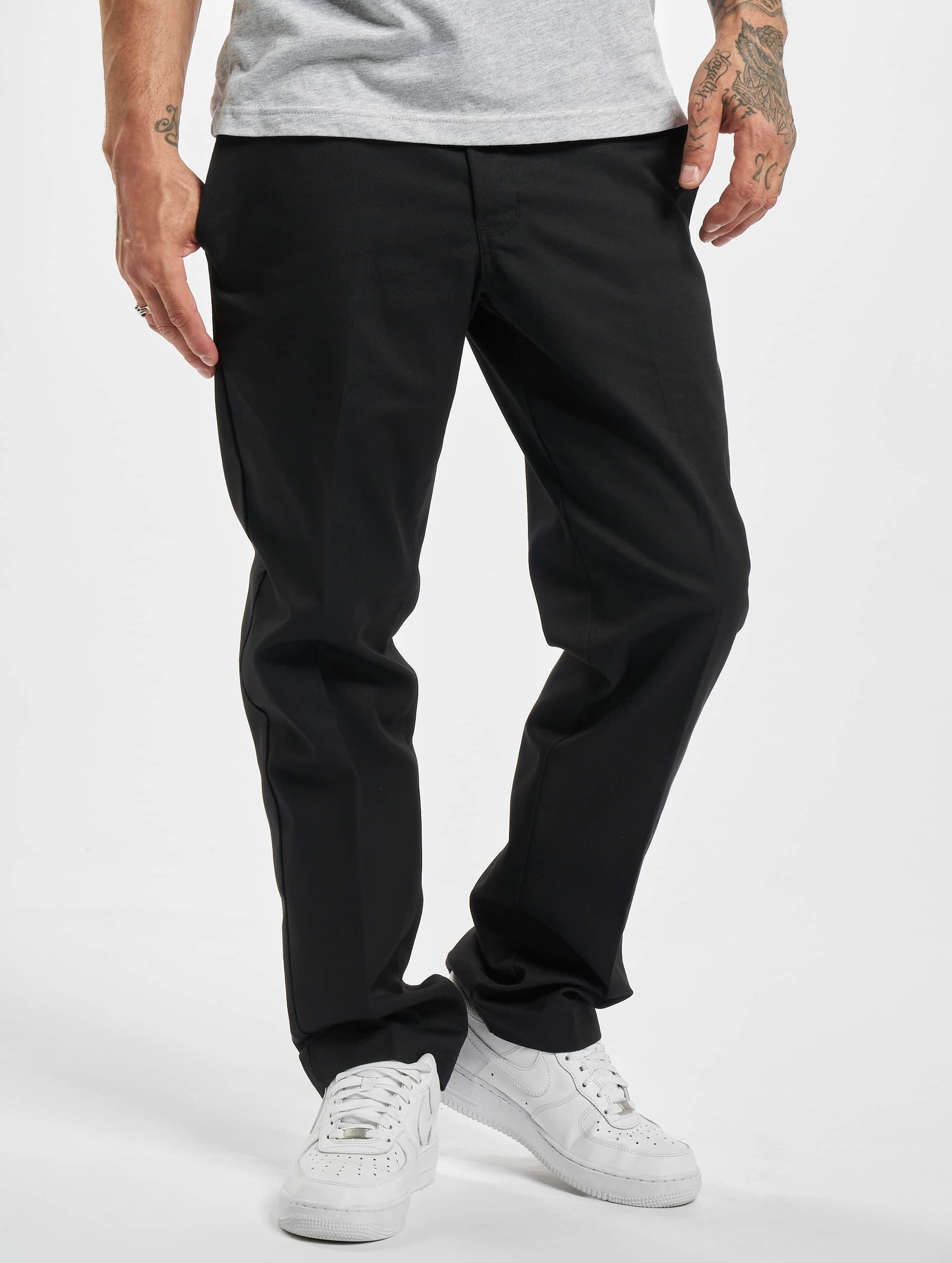 dickies industrial noir homme pantalon chino 221386. Black Bedroom Furniture Sets. Home Design Ideas