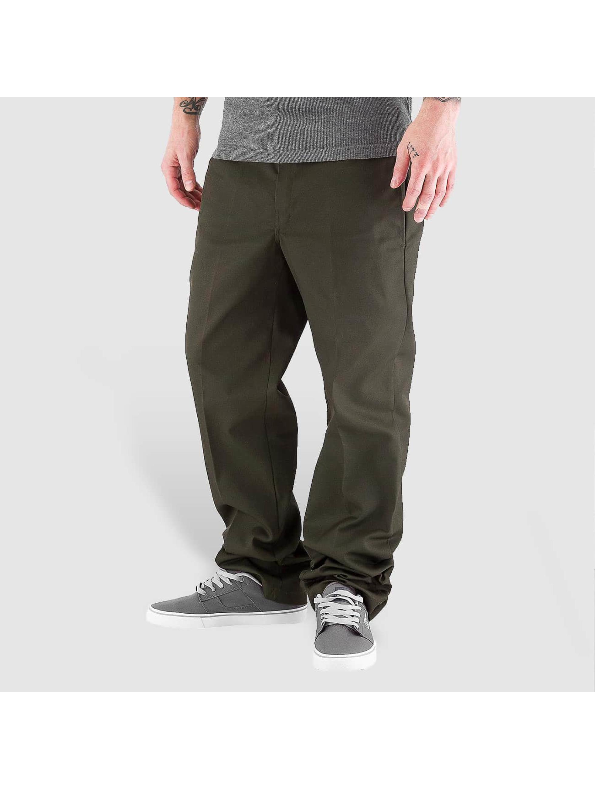 Dickies Pantalon chino Slim Straight Work vert