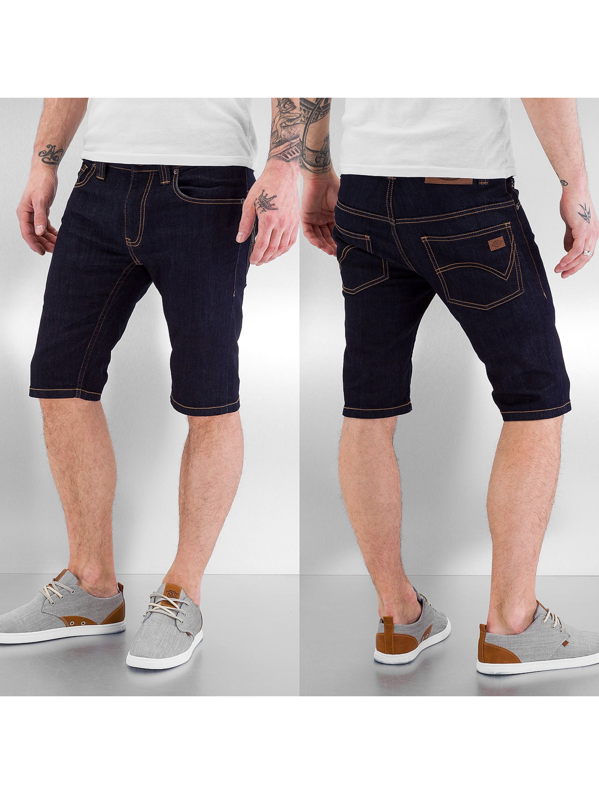 Dickies Shorts Louisiana blau