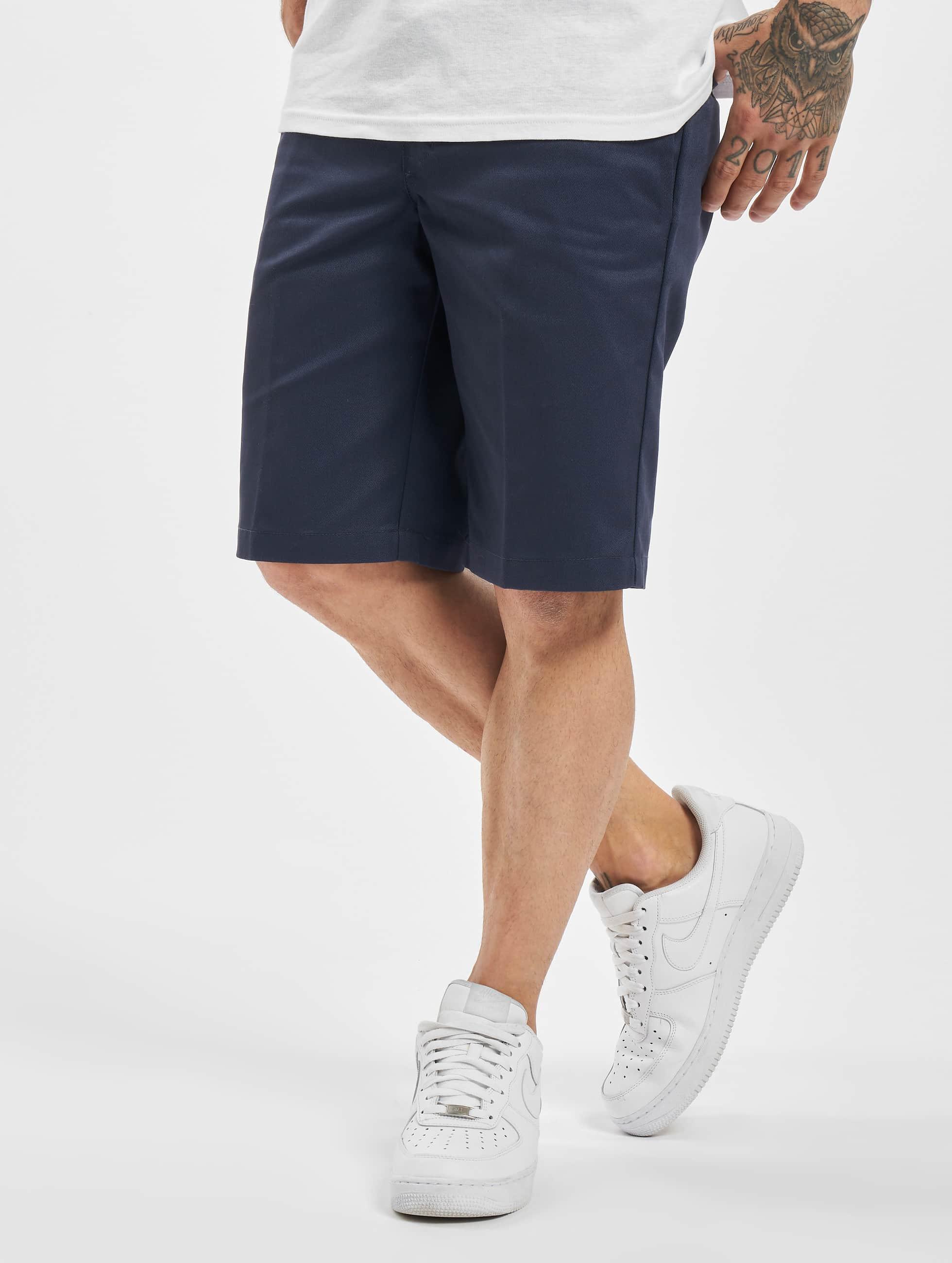 Dickies Shorts Slim Straight Work blau