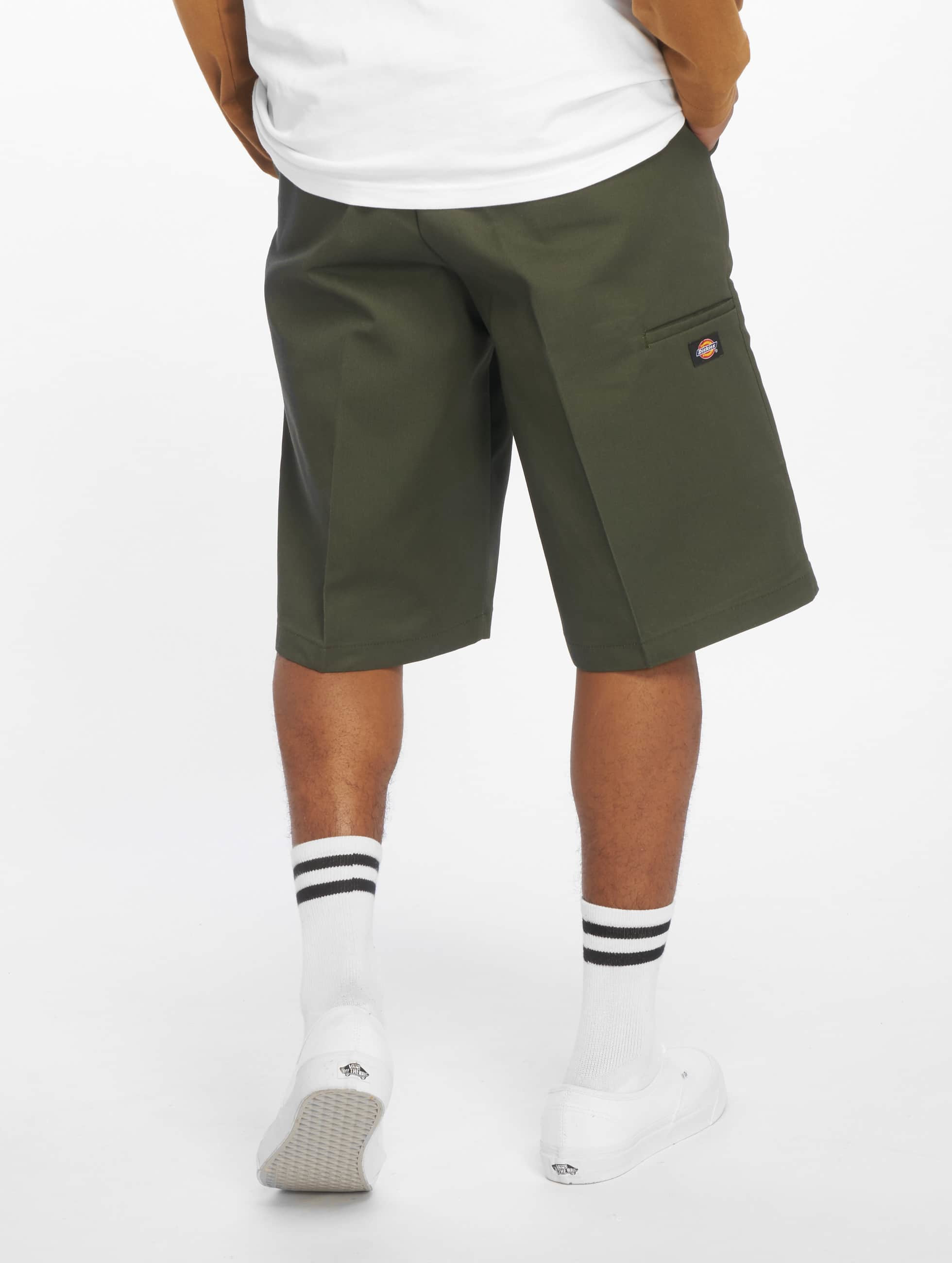 "Dickies shorts ""13"""" Multi-Use Pocket Work"" olijfgroen"