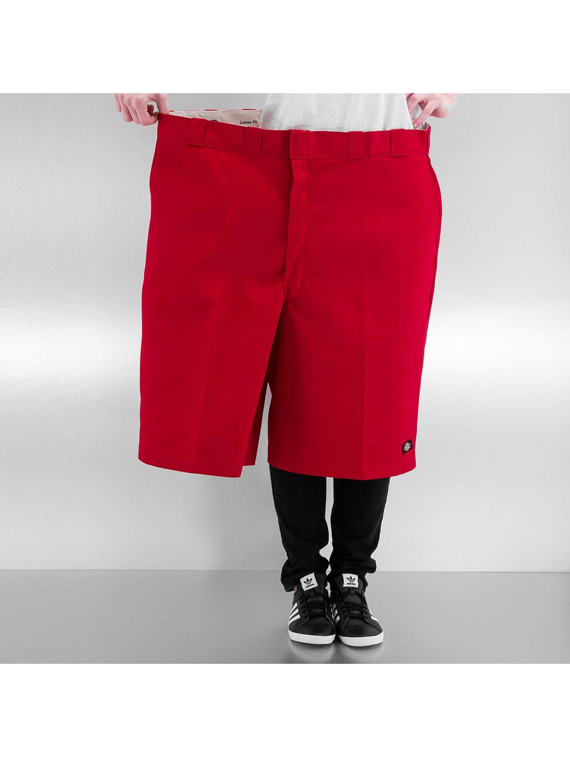 Dickies Shortsit 13 Multi-Use Pocket Work punainen