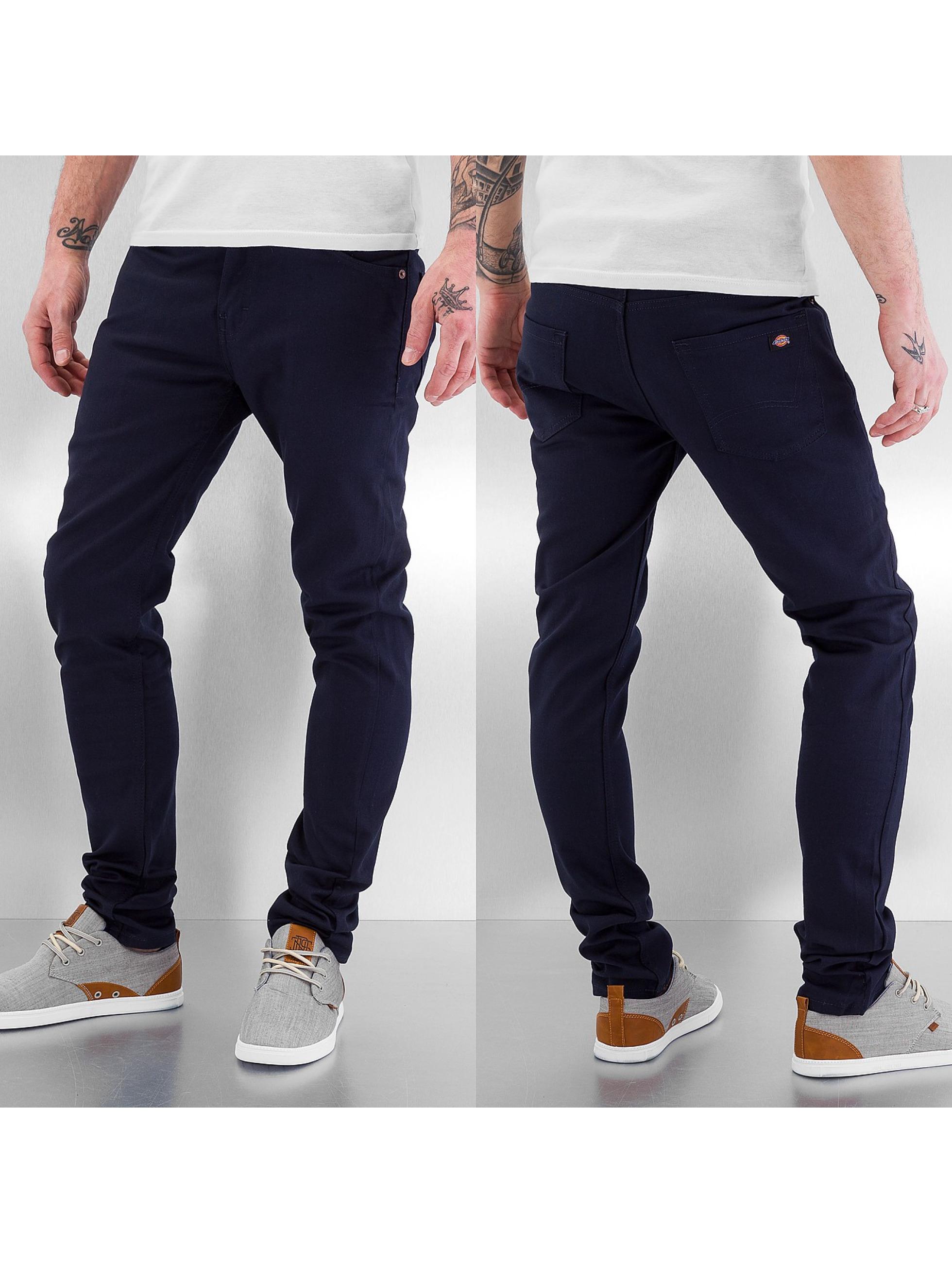 Dickies Skinny Jeans Slim blau