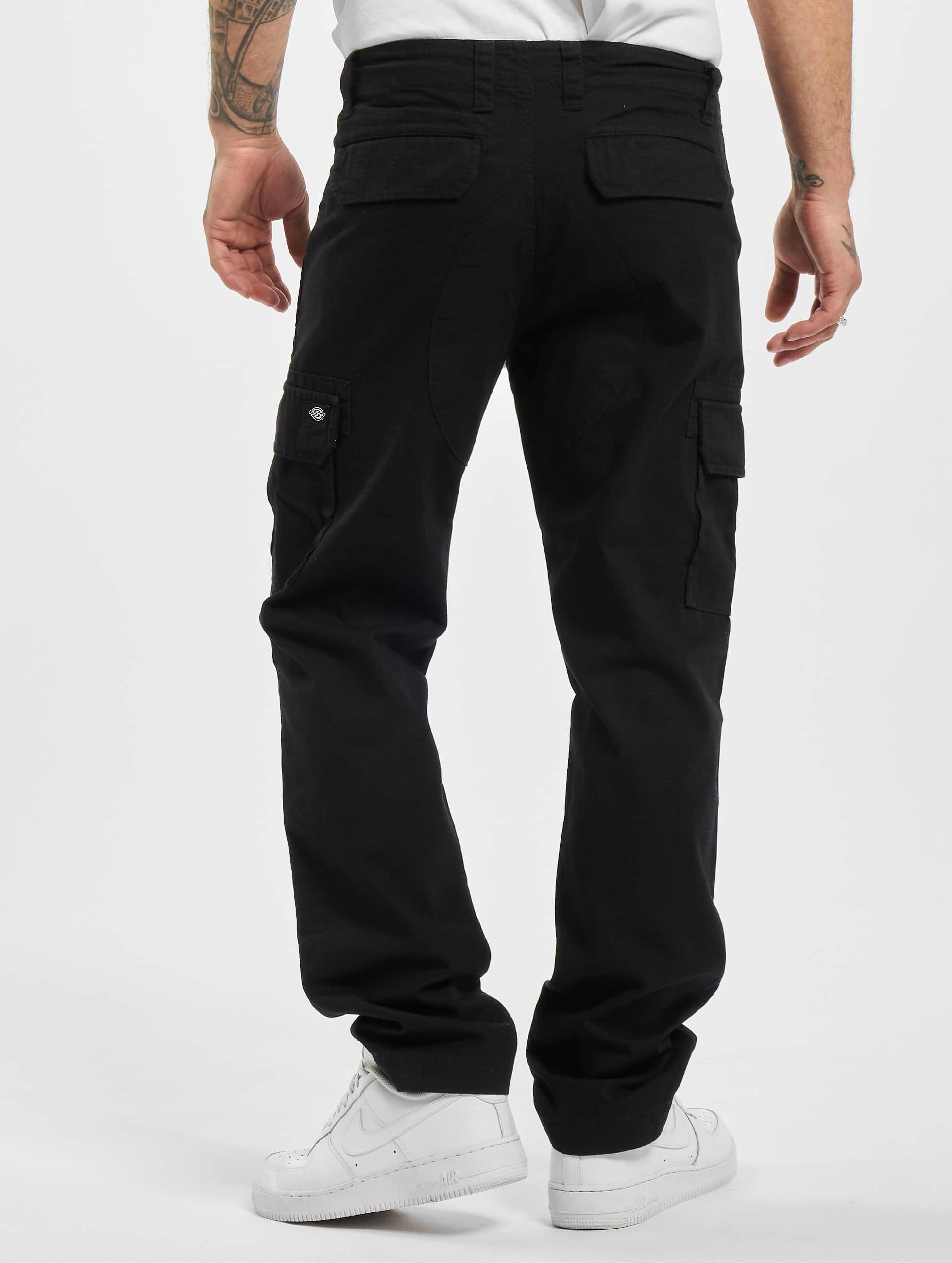 Dickies Spodnie Chino/Cargo Edwardsport czarny