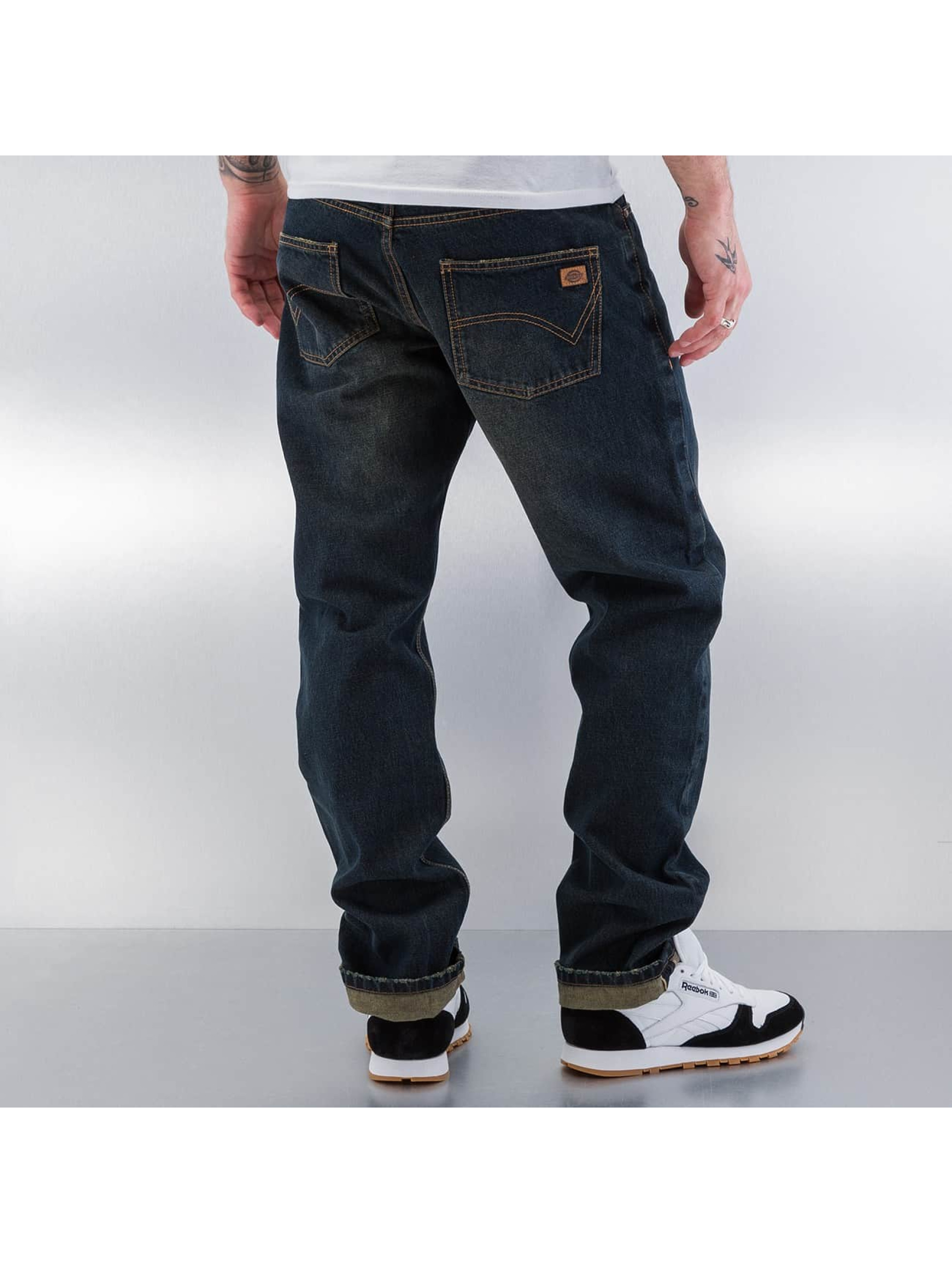 Dickies Straight fit jeans Pennsylvania blauw