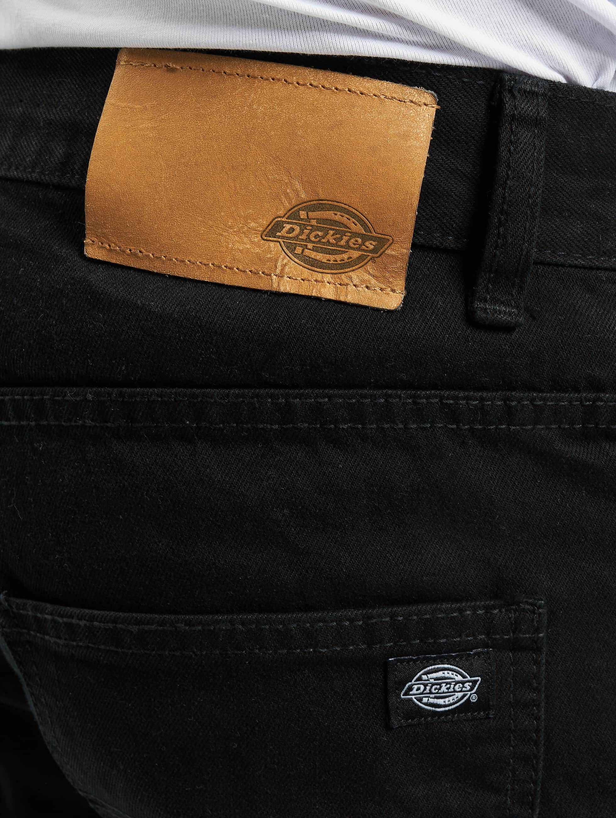 Dickies Straight Fit Jeans North Carolina svart