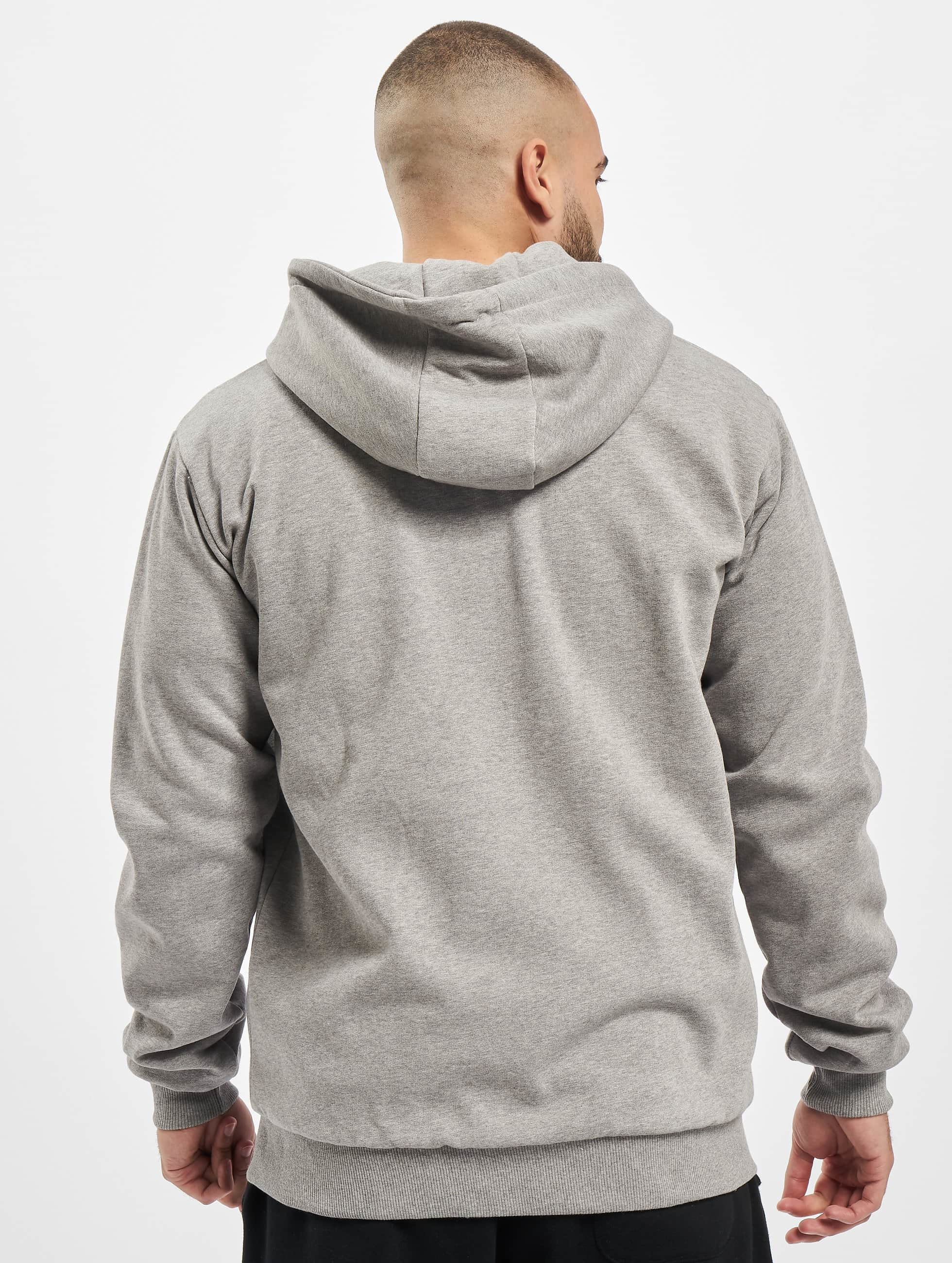 Dickies Sweat capuche zippé Kingsley gris