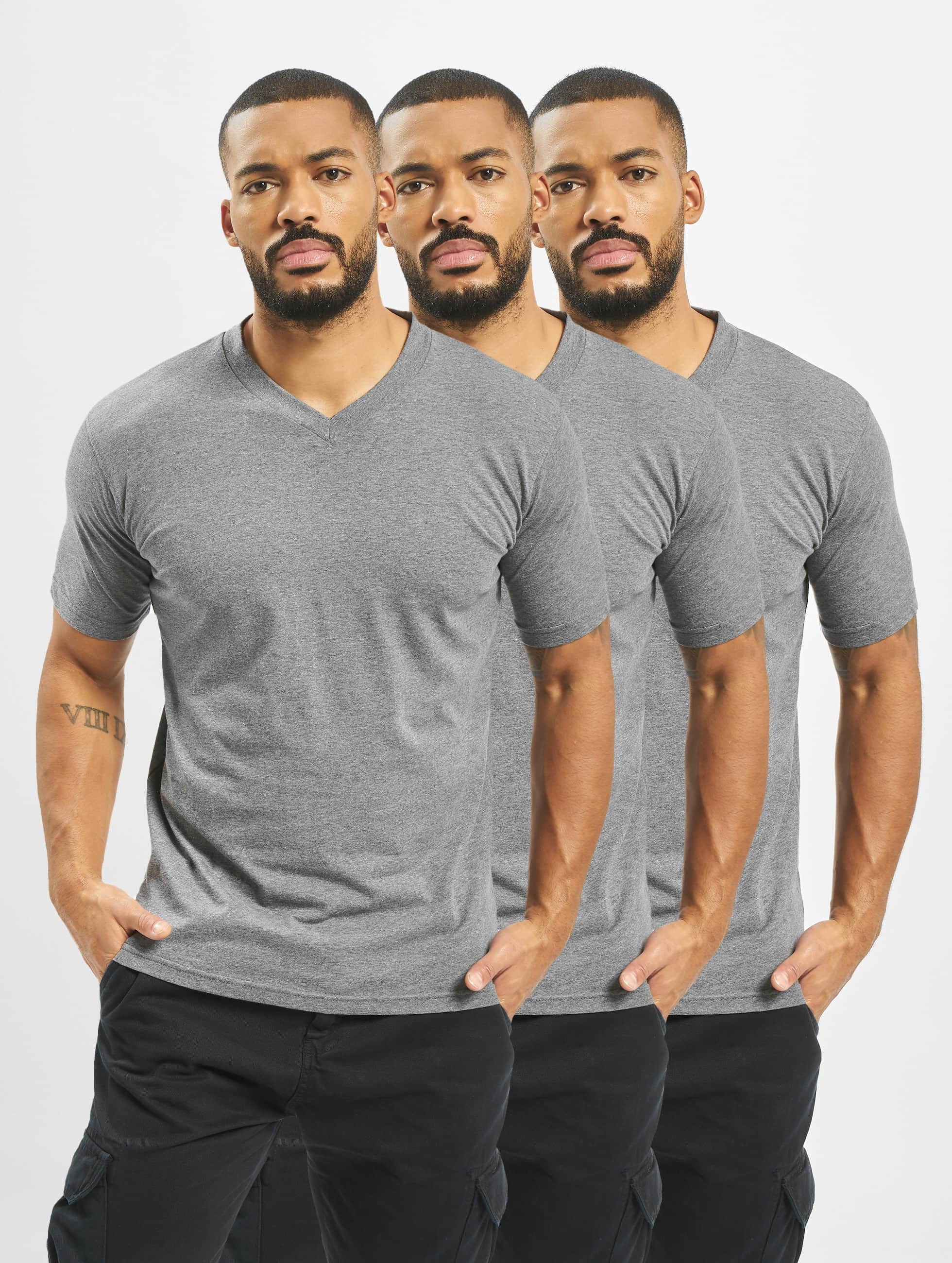 Dickies T-Shirt V-Neck 3er-Pack grau