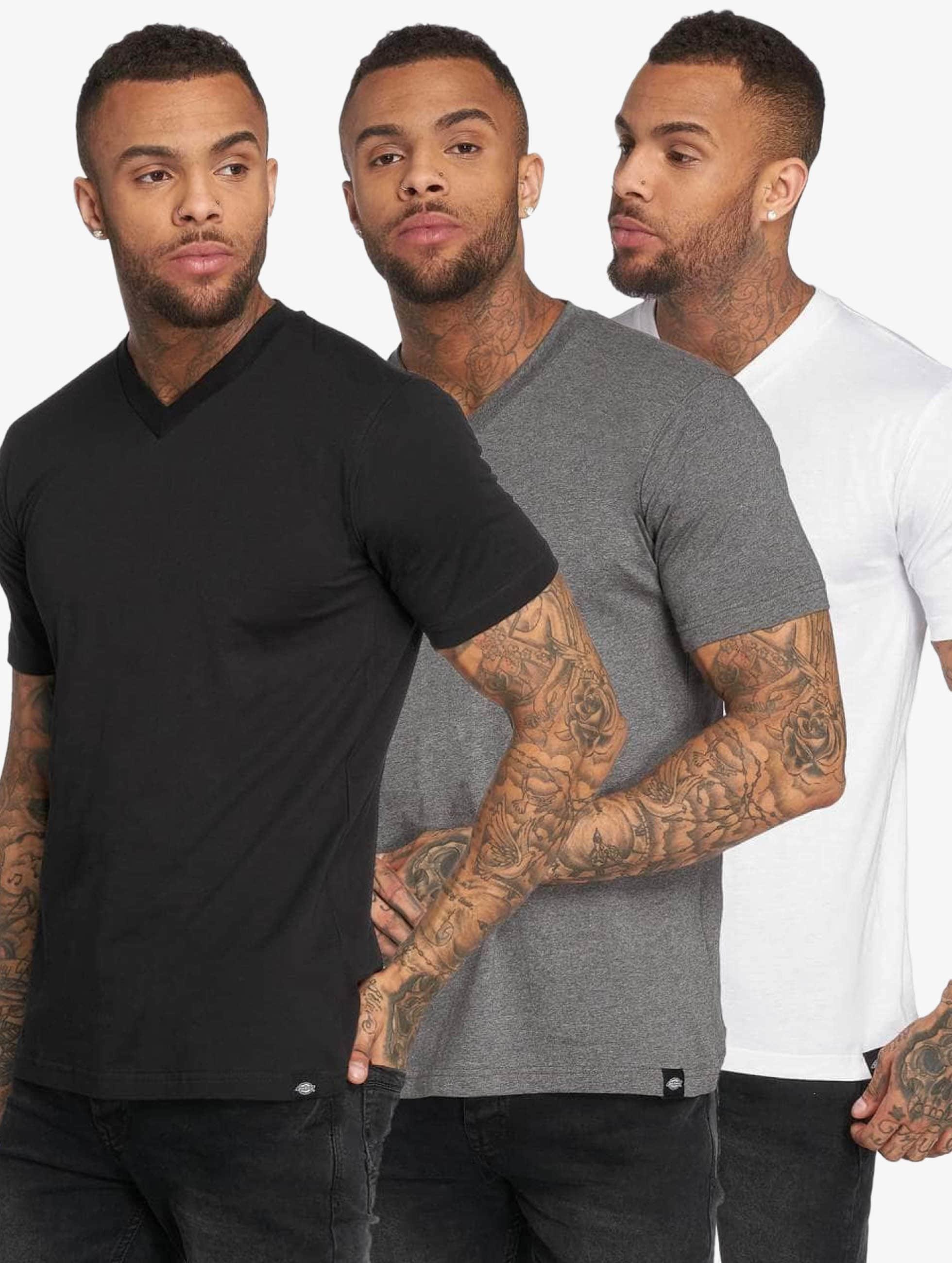 Dickies T-Shirt MC 3-Pack noir