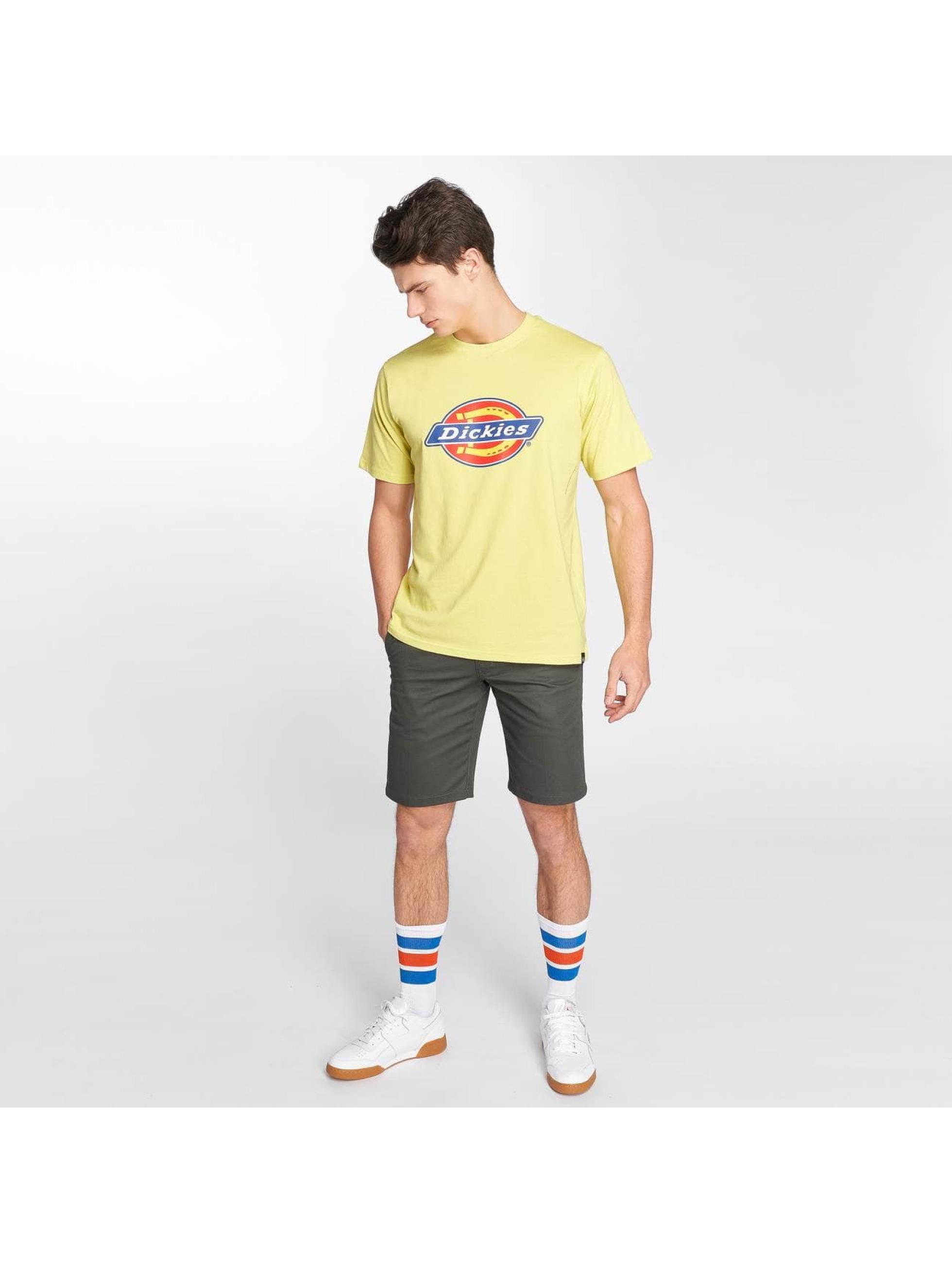 Dickies T-skjorter Horseshoe gul