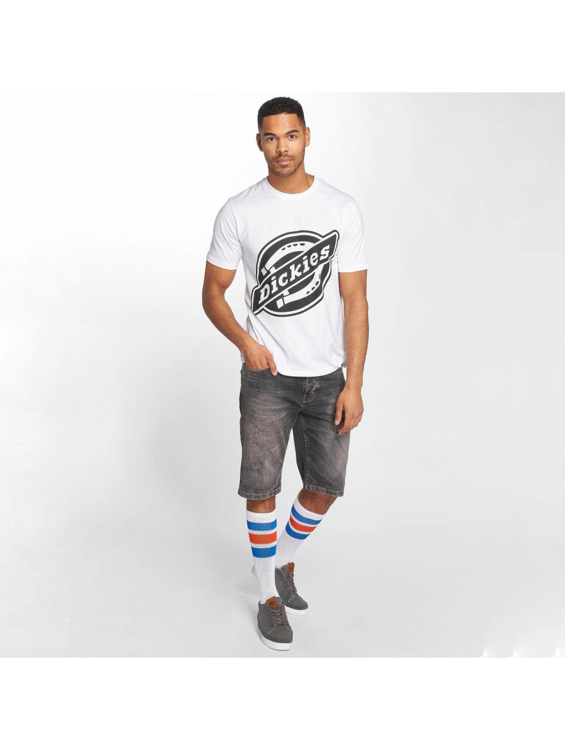 Dickies T-skjorter Johnson City hvit
