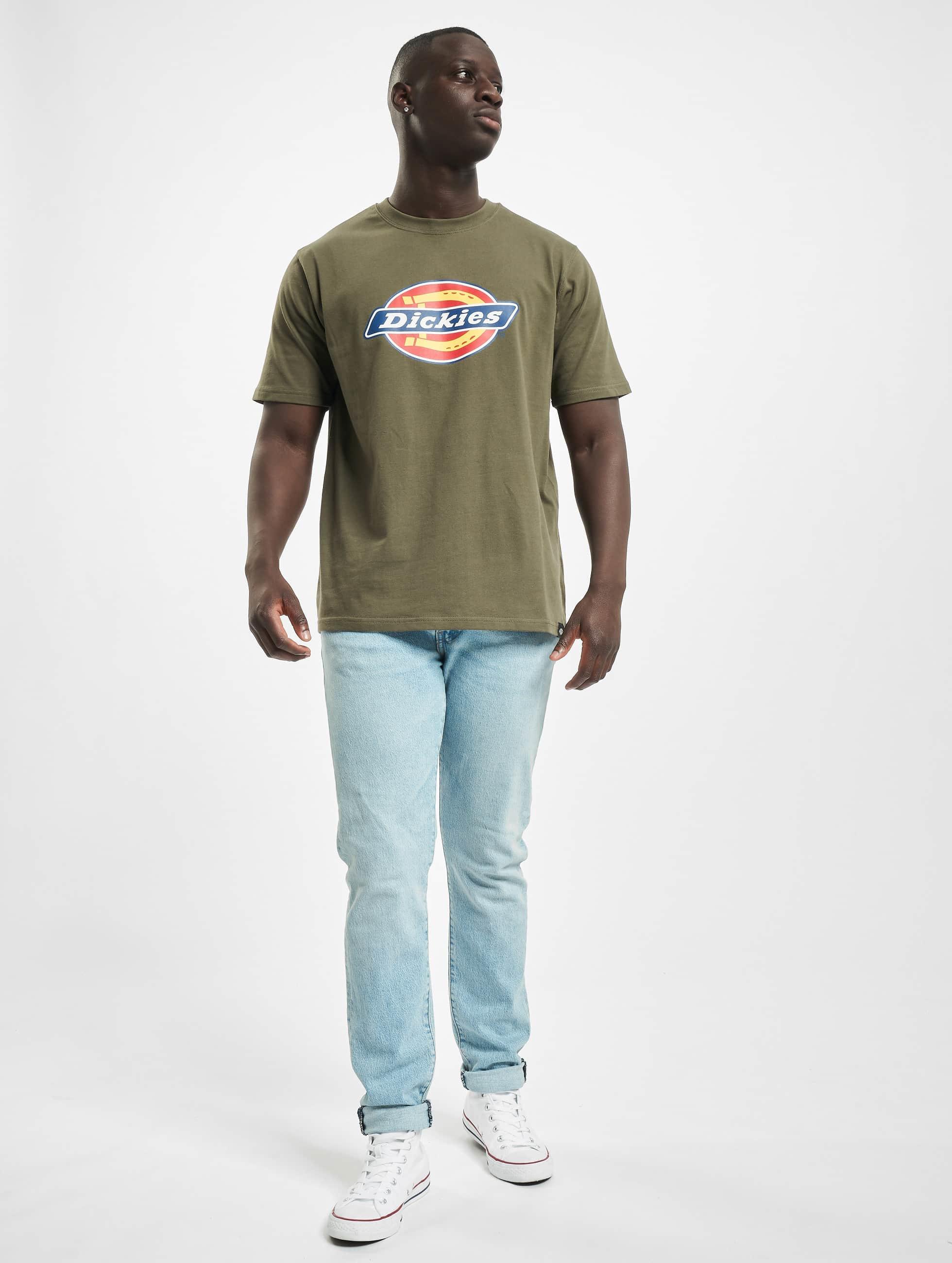 Dickies T-skjorter Horseshoe oliven