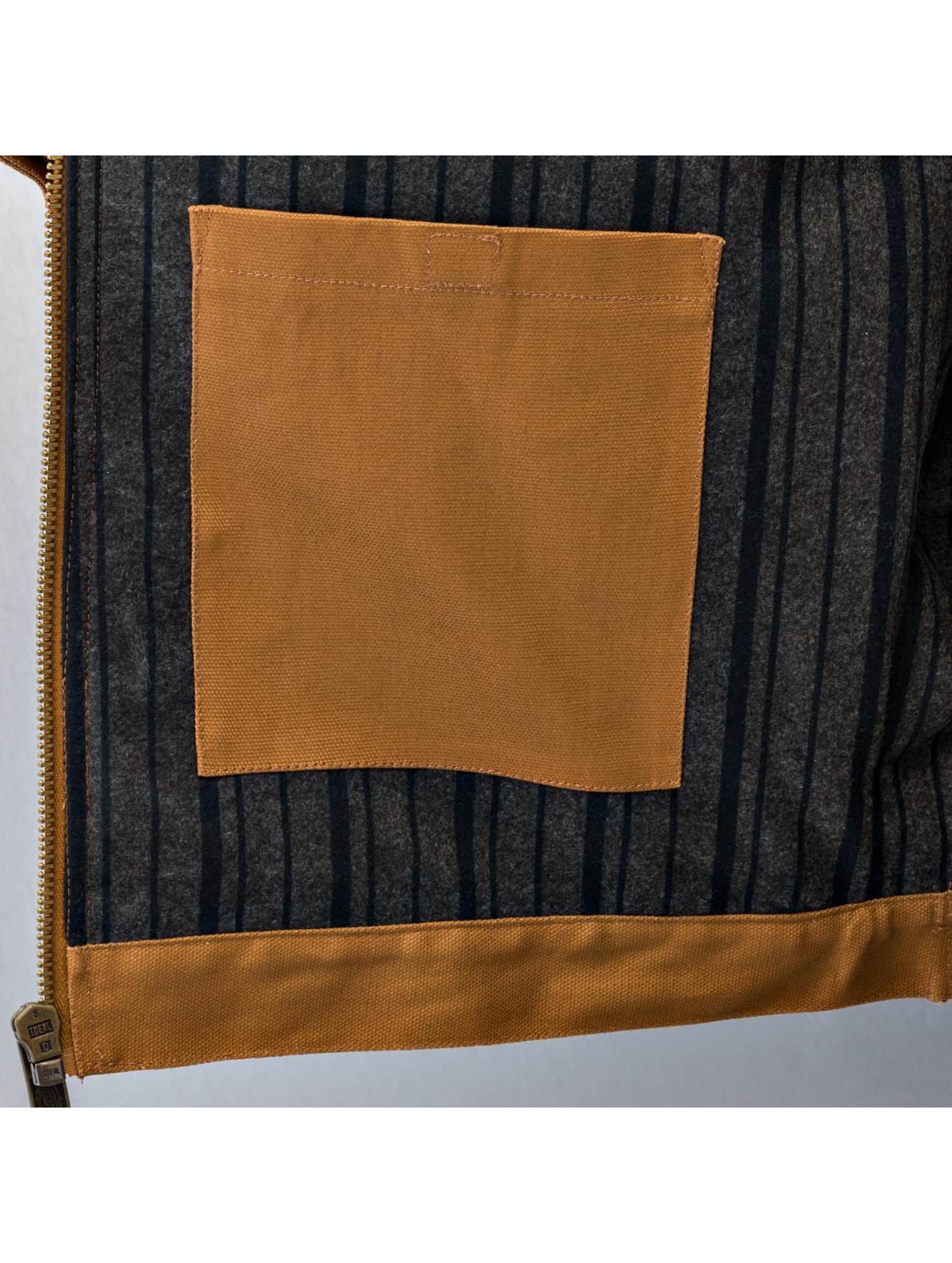 Dickies Übergangsjacke Blanket Lined Duck braun