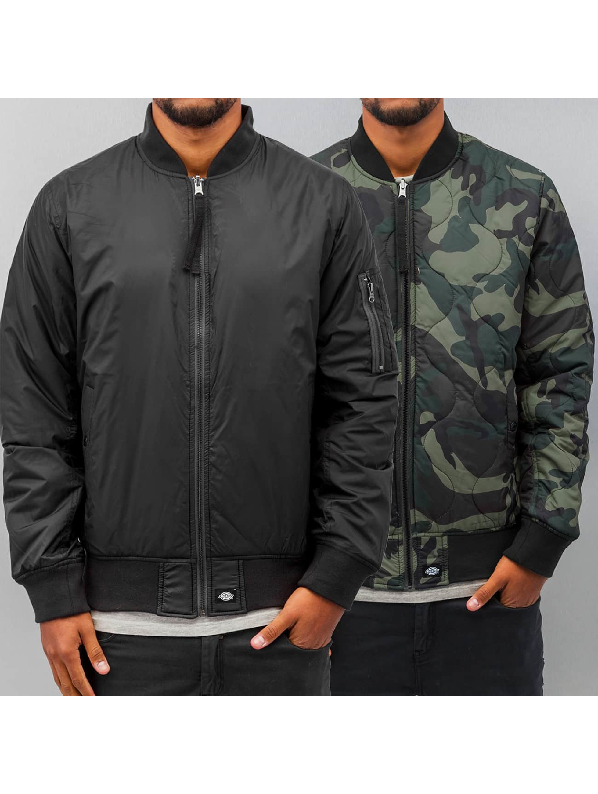 Dickies Winterjacke Bay City Pilot schwarz