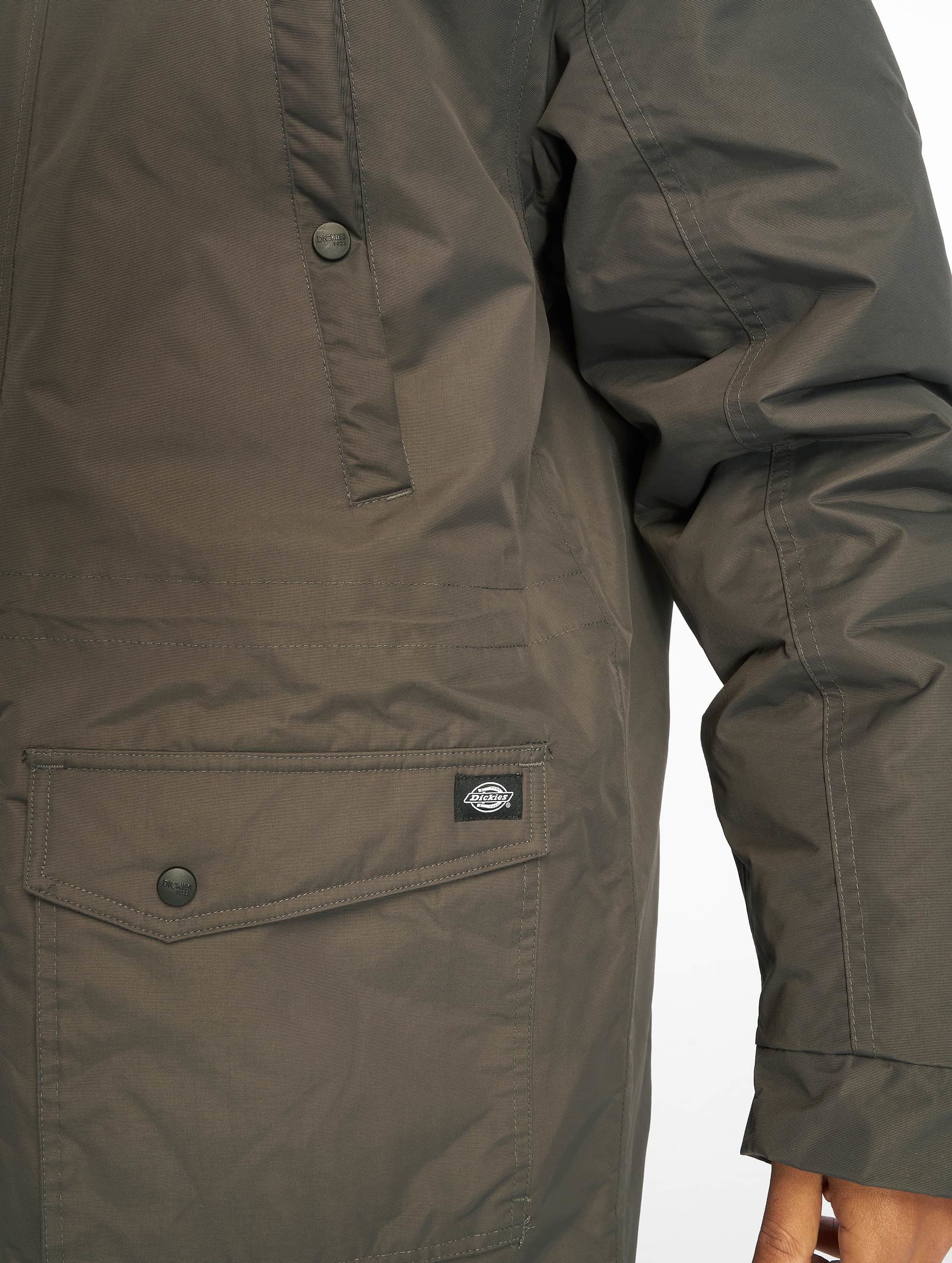 Dickies winterjas Curtis grijs