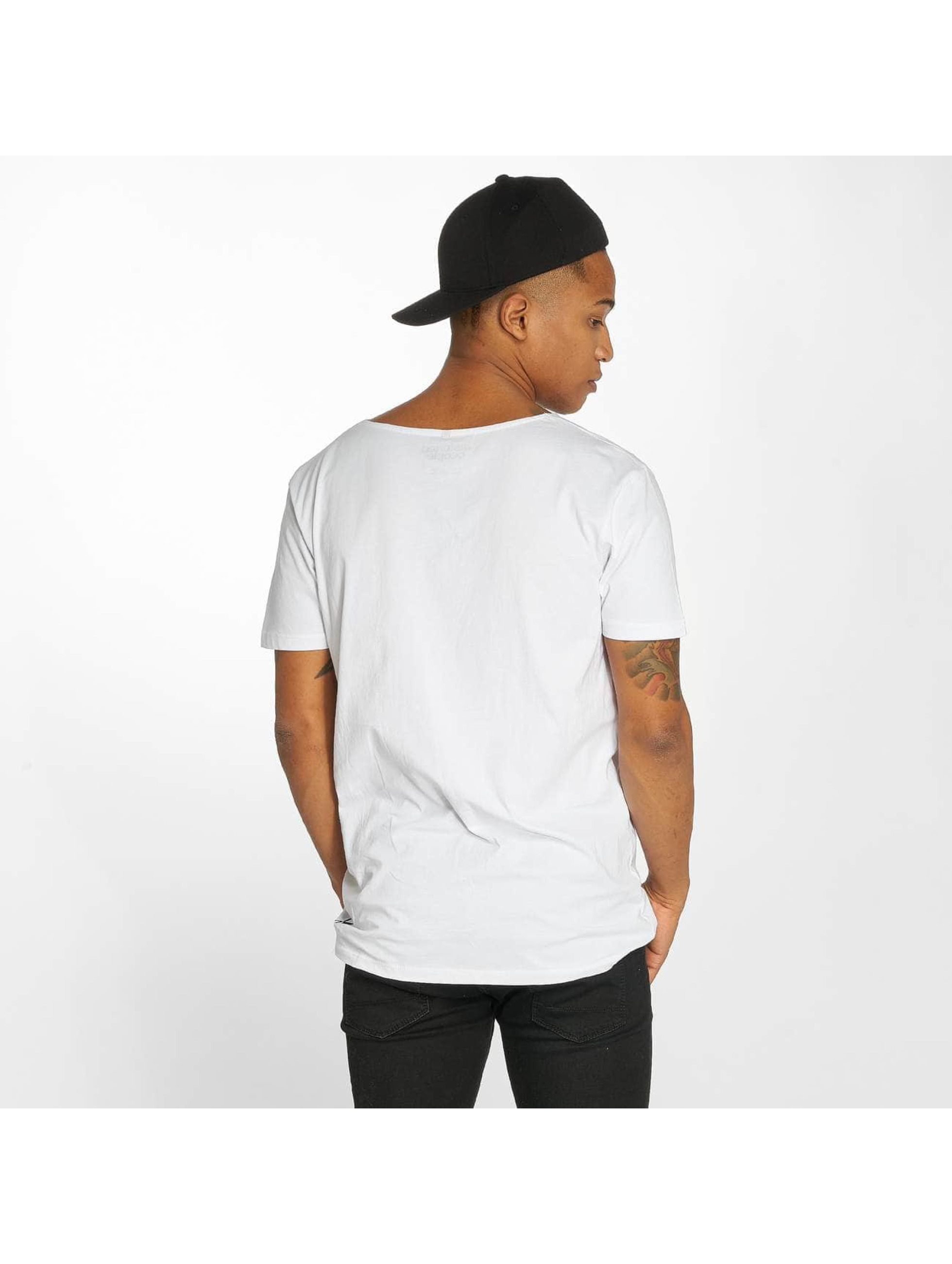 Distorted People Camiseta Barber & Butcher blanco