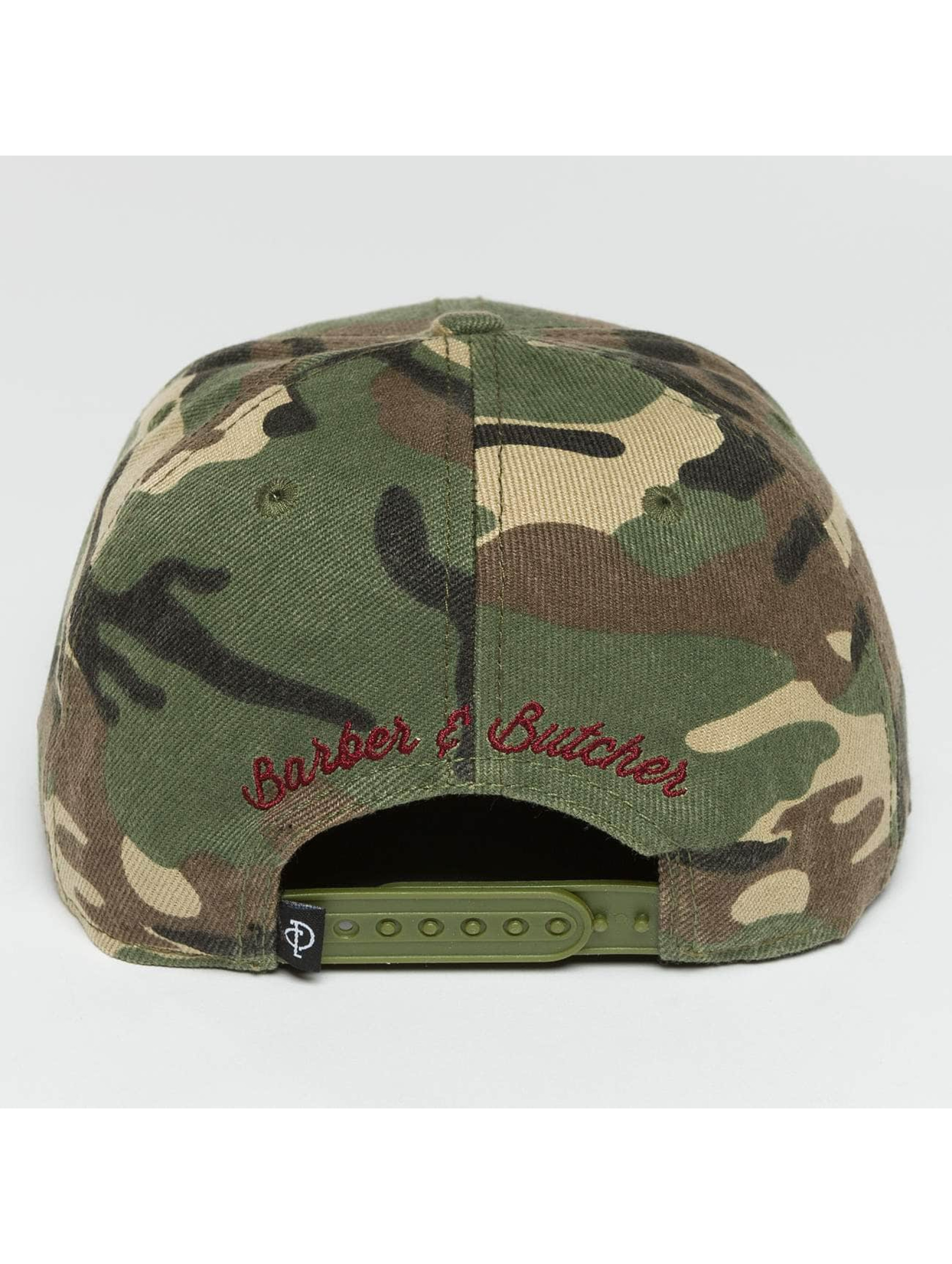 Distorted People Casquette Snapback & Strapback Barber & Butcher camouflage