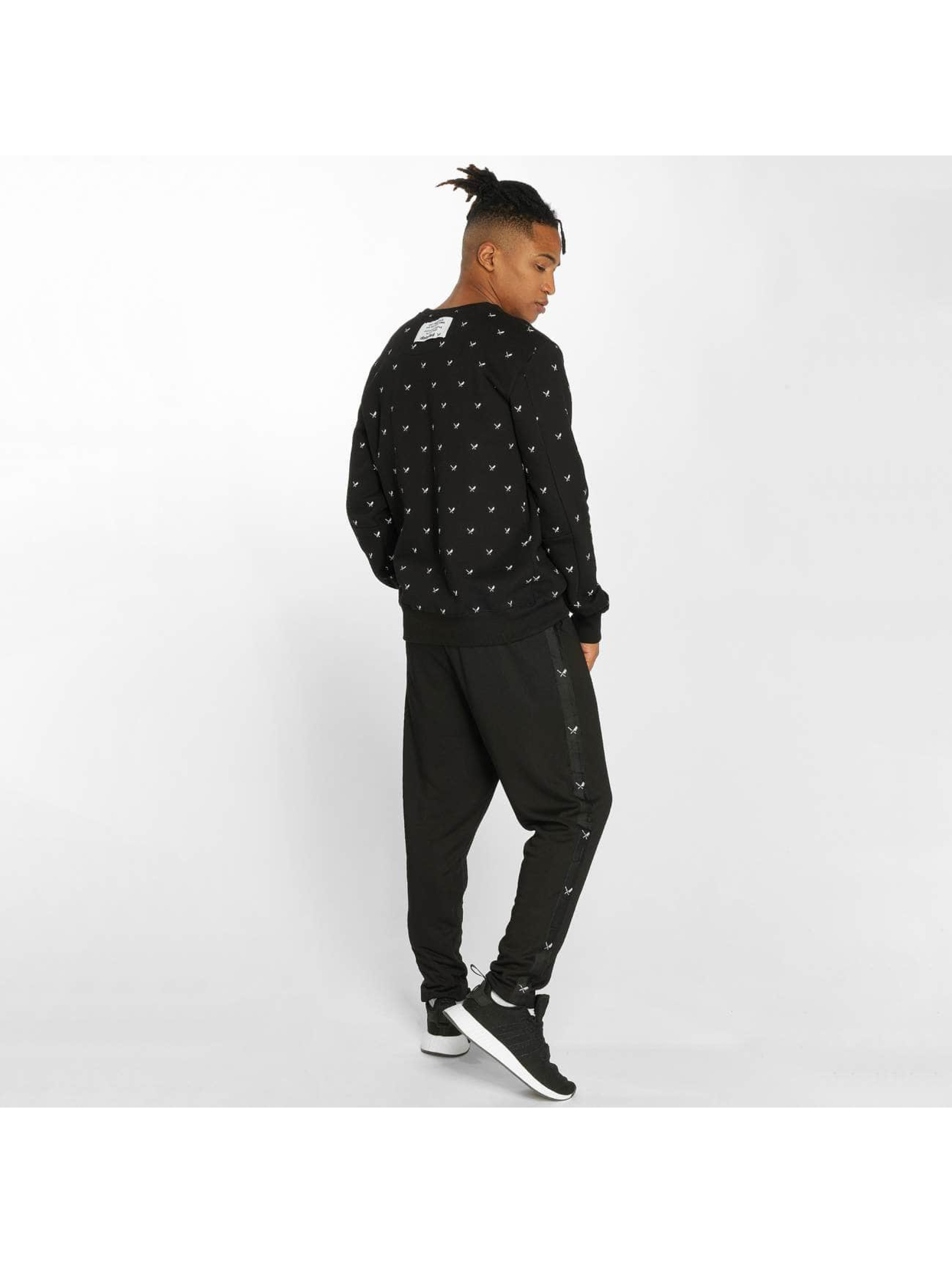 Distorted People Jumper Allover Blades black