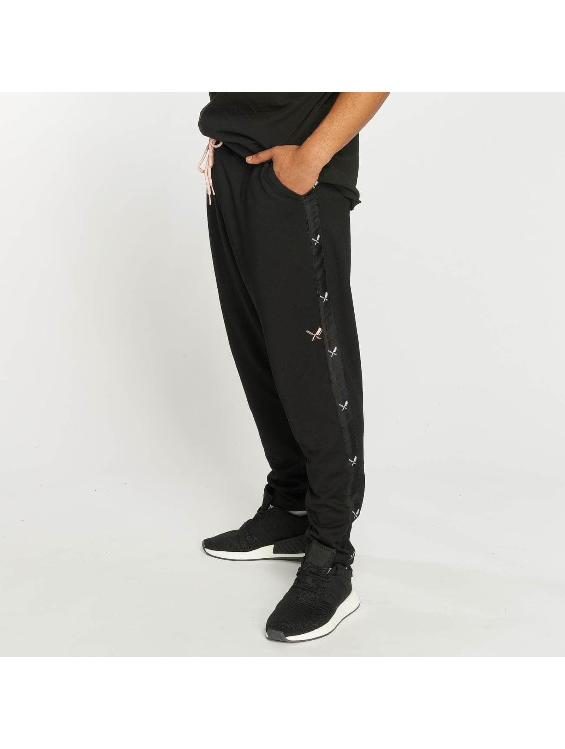 Distorted People Pantalón deportivo Exile negro