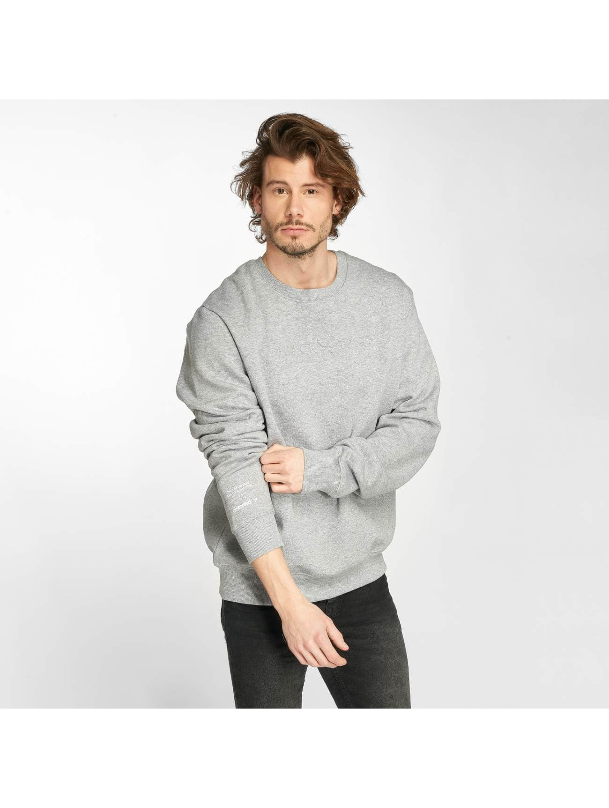 Distorted People Pullover Tribe grau