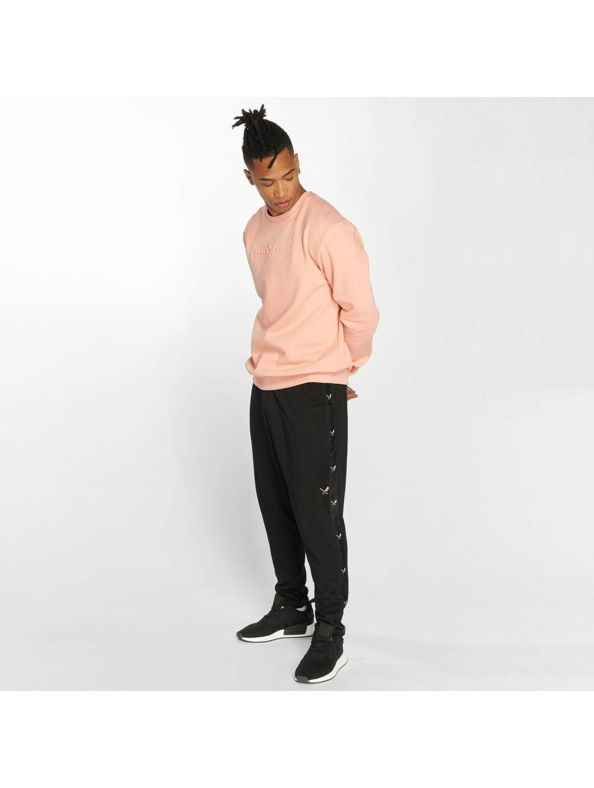 Distorted People Pullover Black Tribe rosa