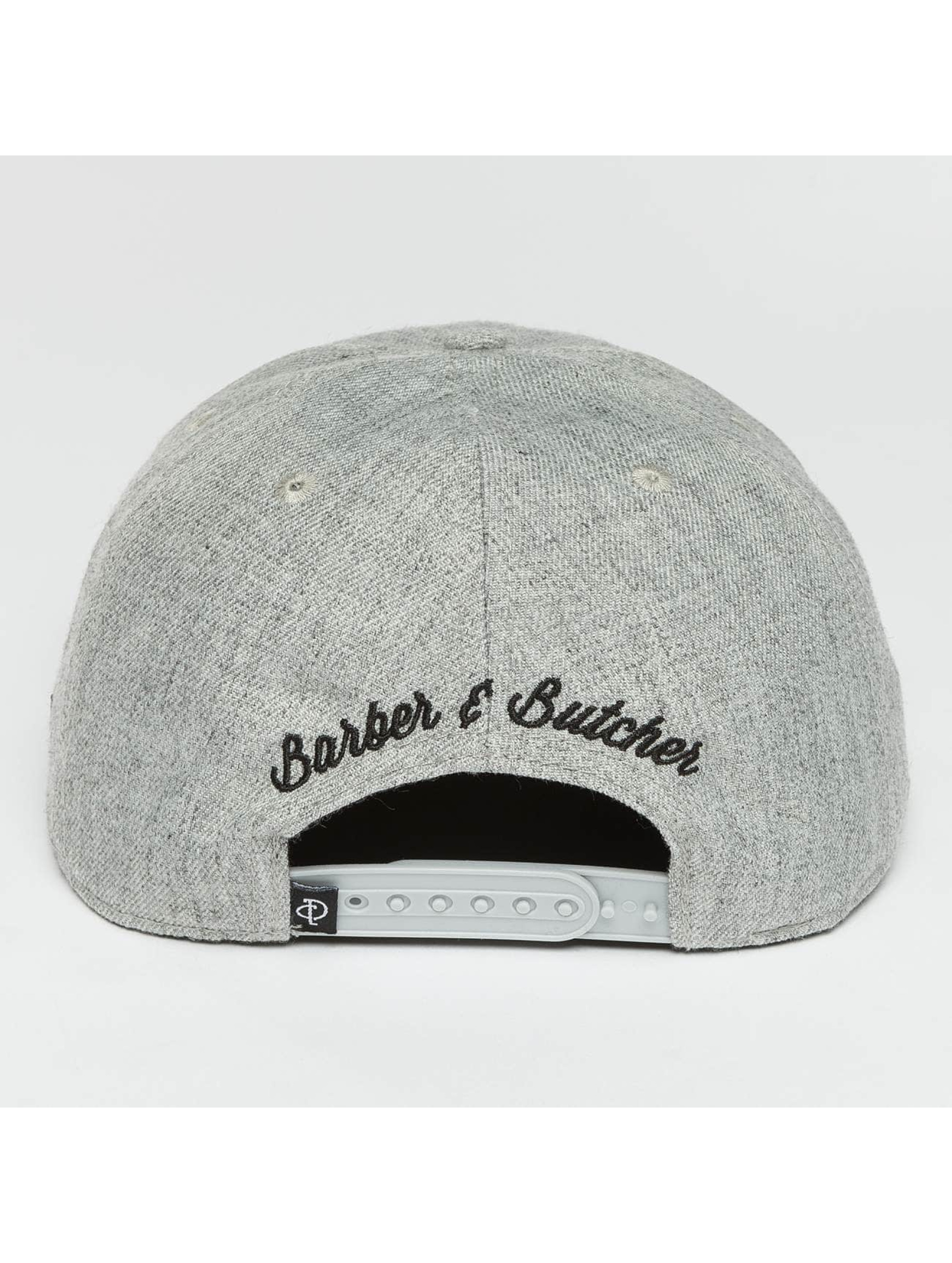 Distorted People Snapback Cap BB Blades grey