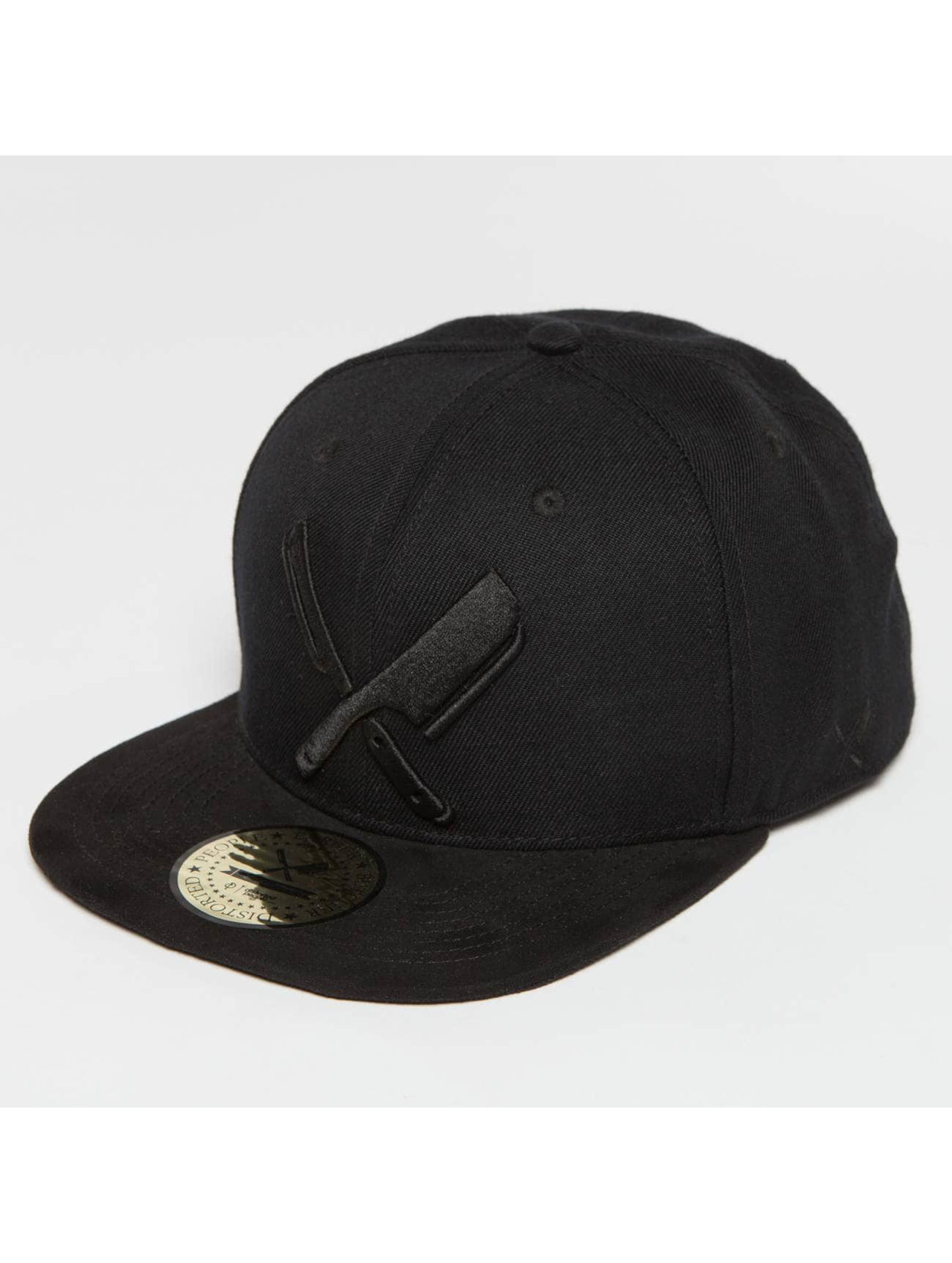 Distorted People Snapback Cap Barber & Butcher nero