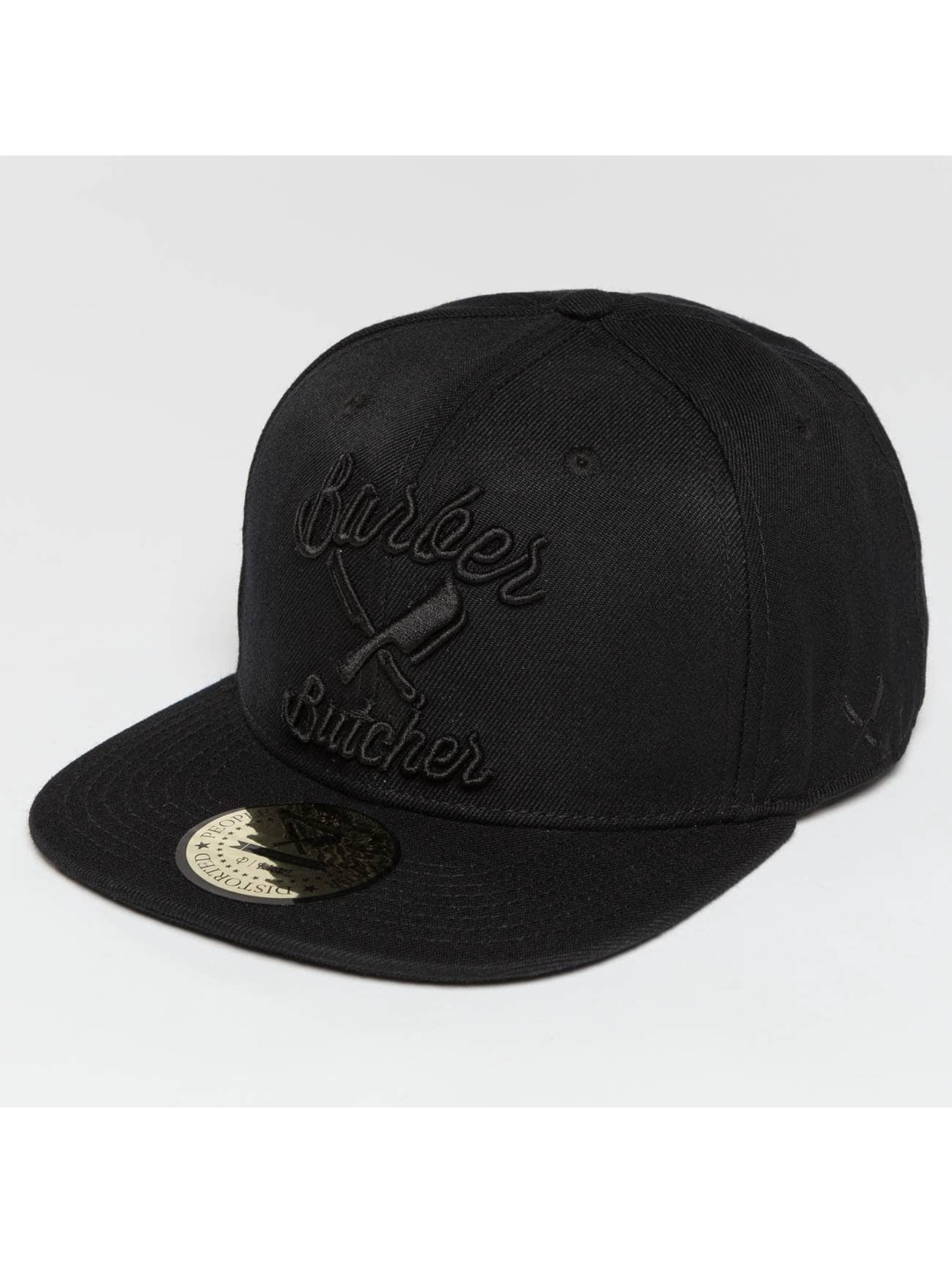 Distorted People snapback cap BB Blades zwart
