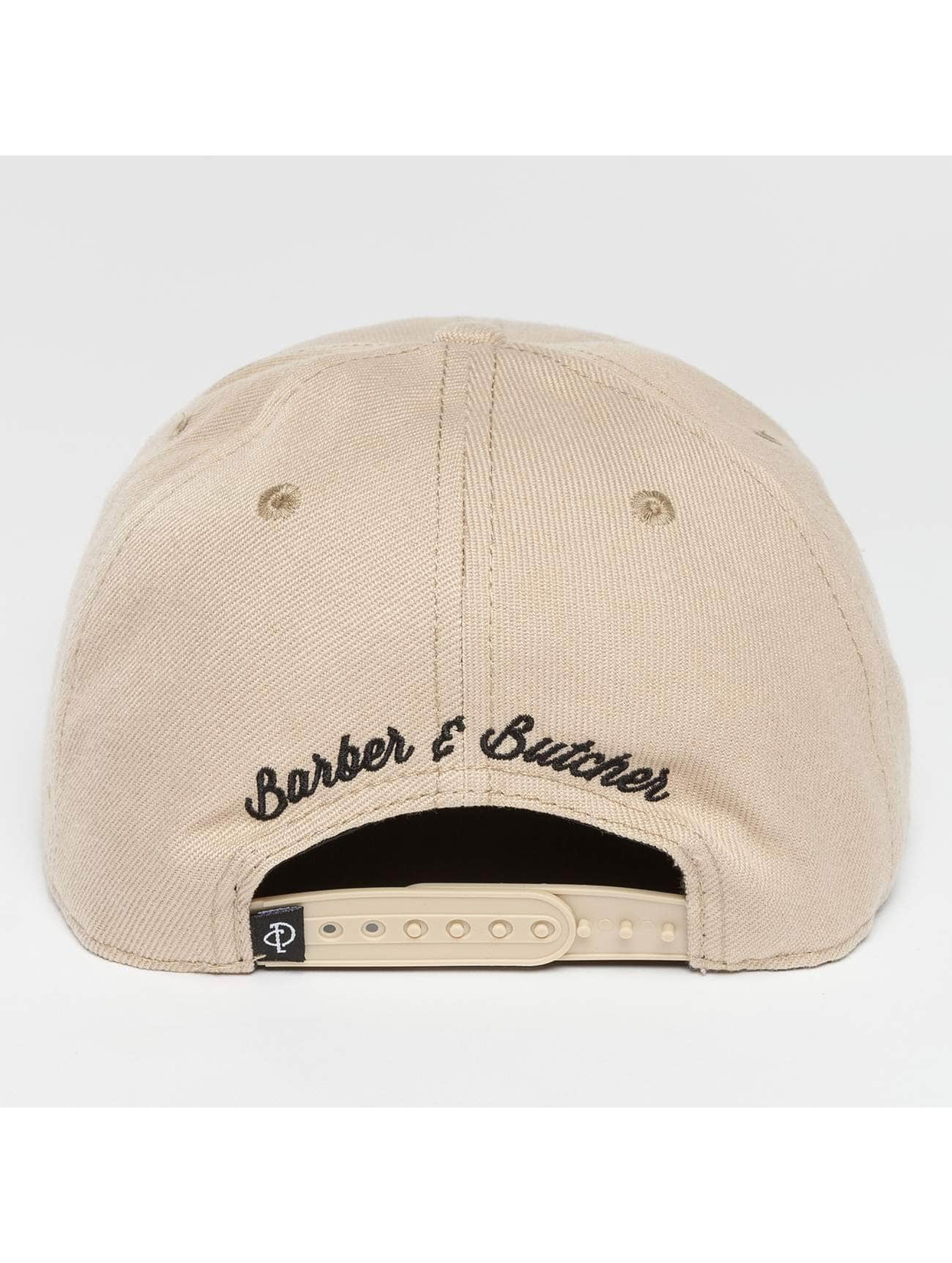 Distorted People Snapback Caps BB Blades beige