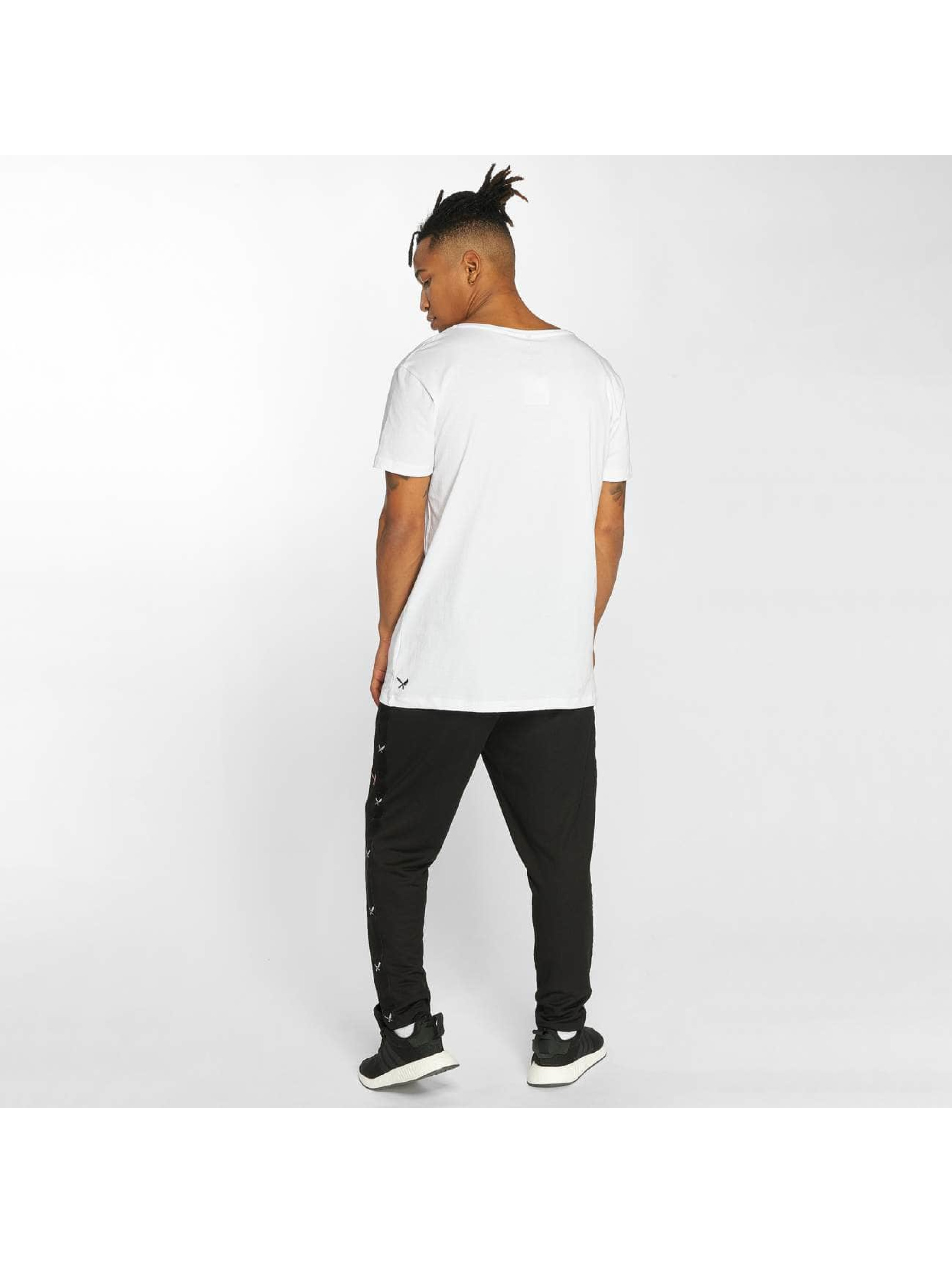 Distorted People T-shirt Grand bianco
