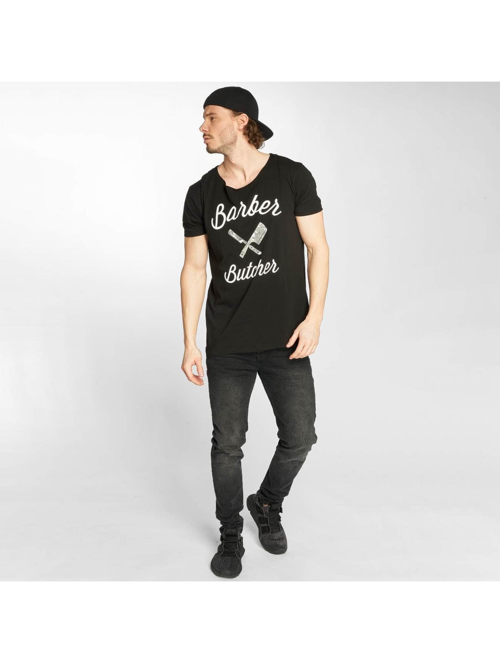 Distorted People T-Shirt BB Blades Camo schwarz