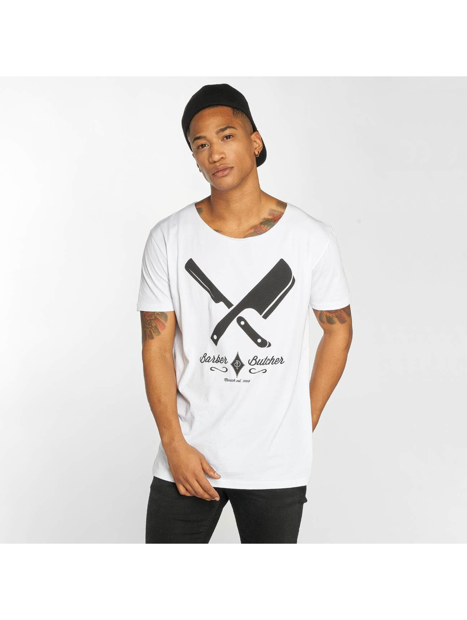 Distorted People T-shirt Barber & Butcher vit