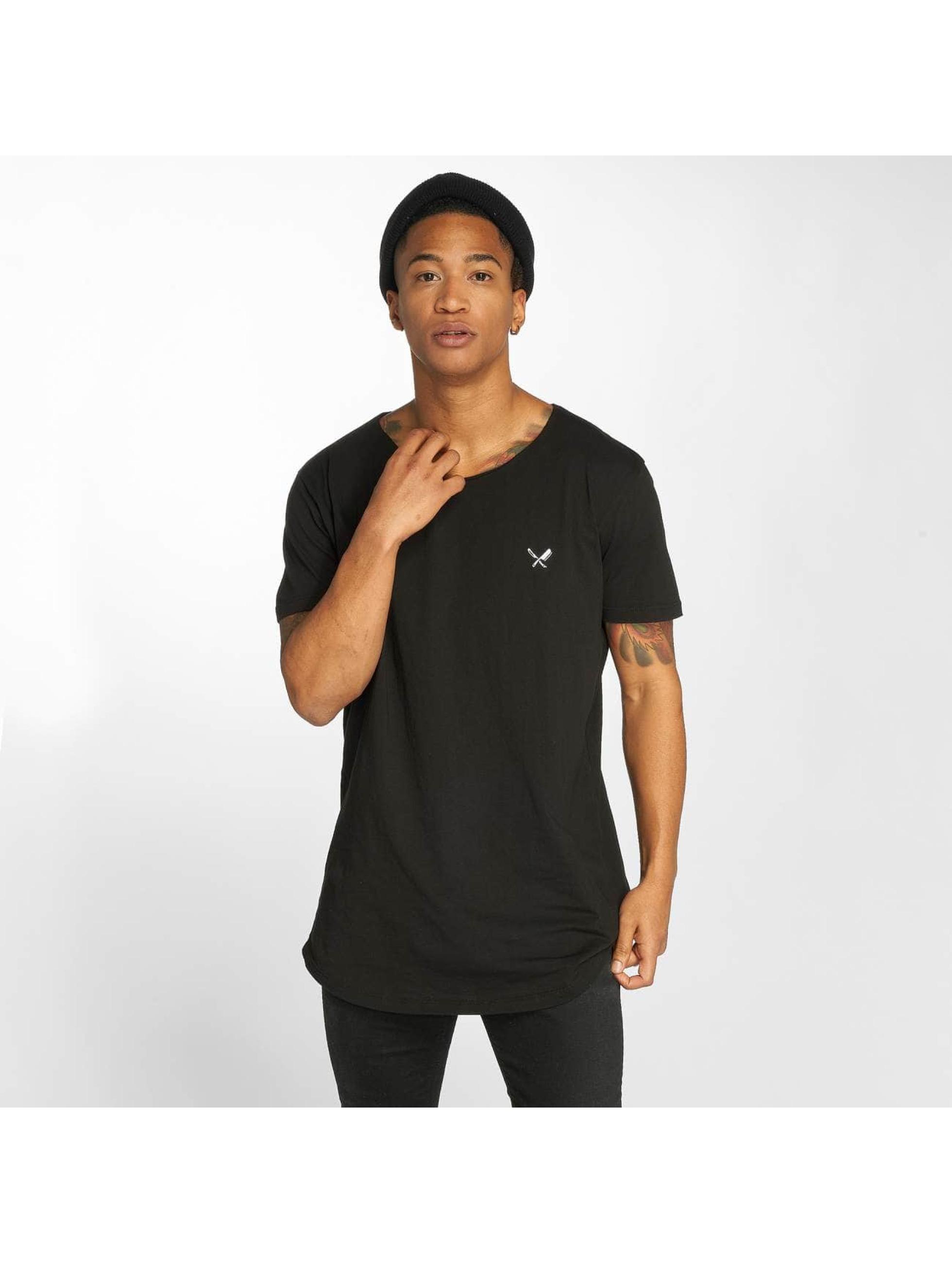 Distorted People T-skjorter Cutted svart