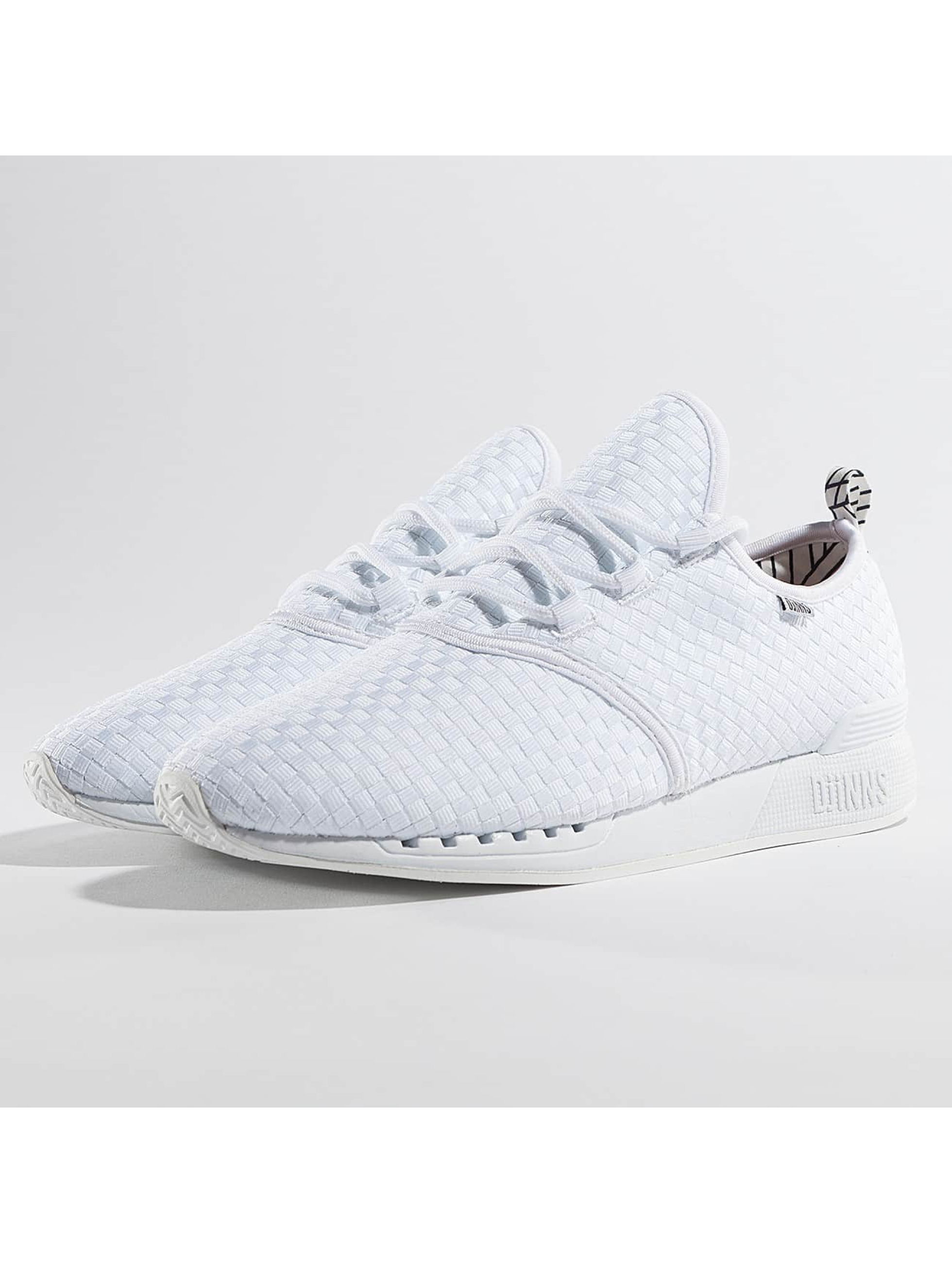 Djinns Chaussures / Baskets Moc Lau Conlines en blanc