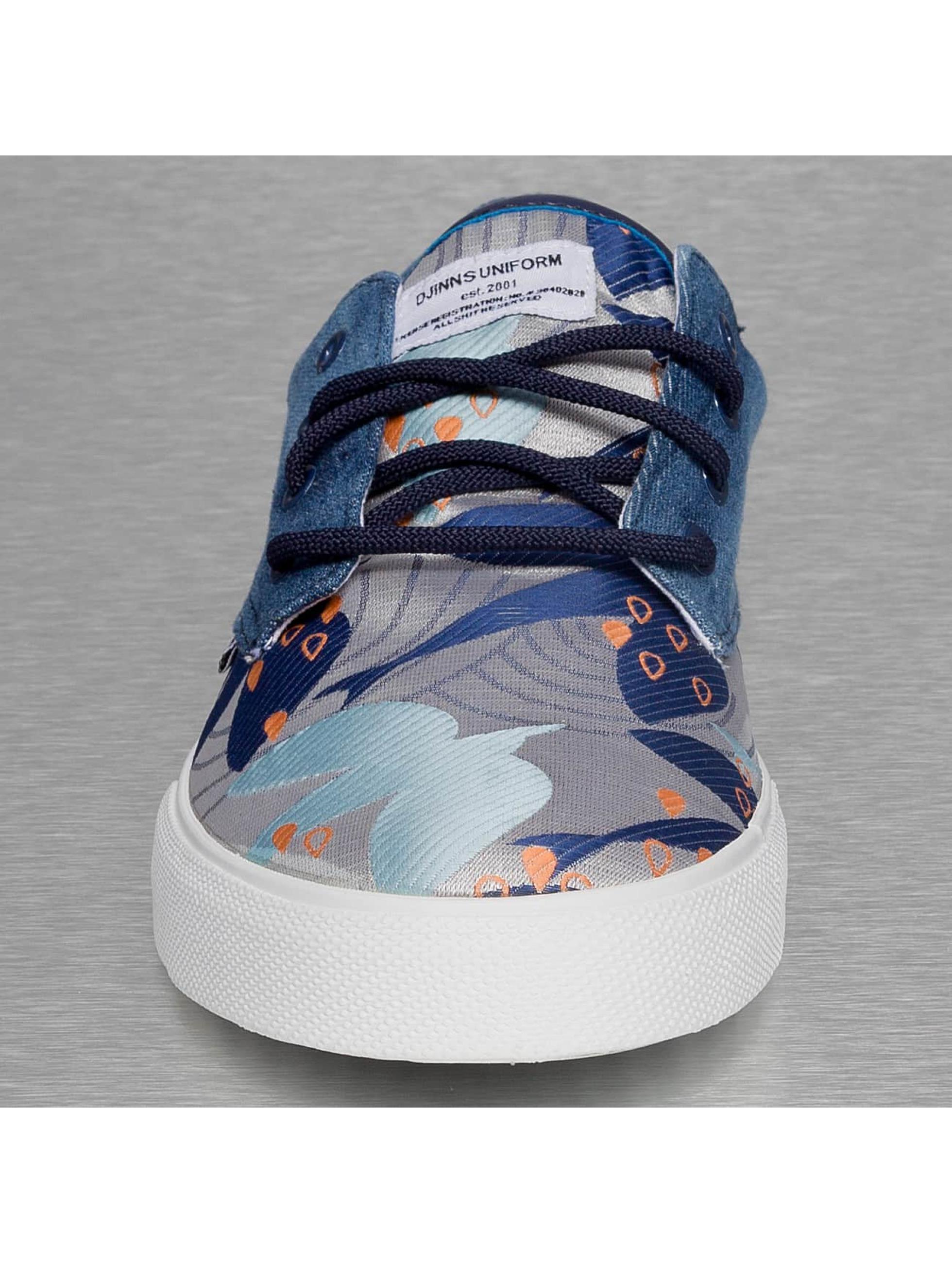 Djinns Baskets Crazy Pattern bleu