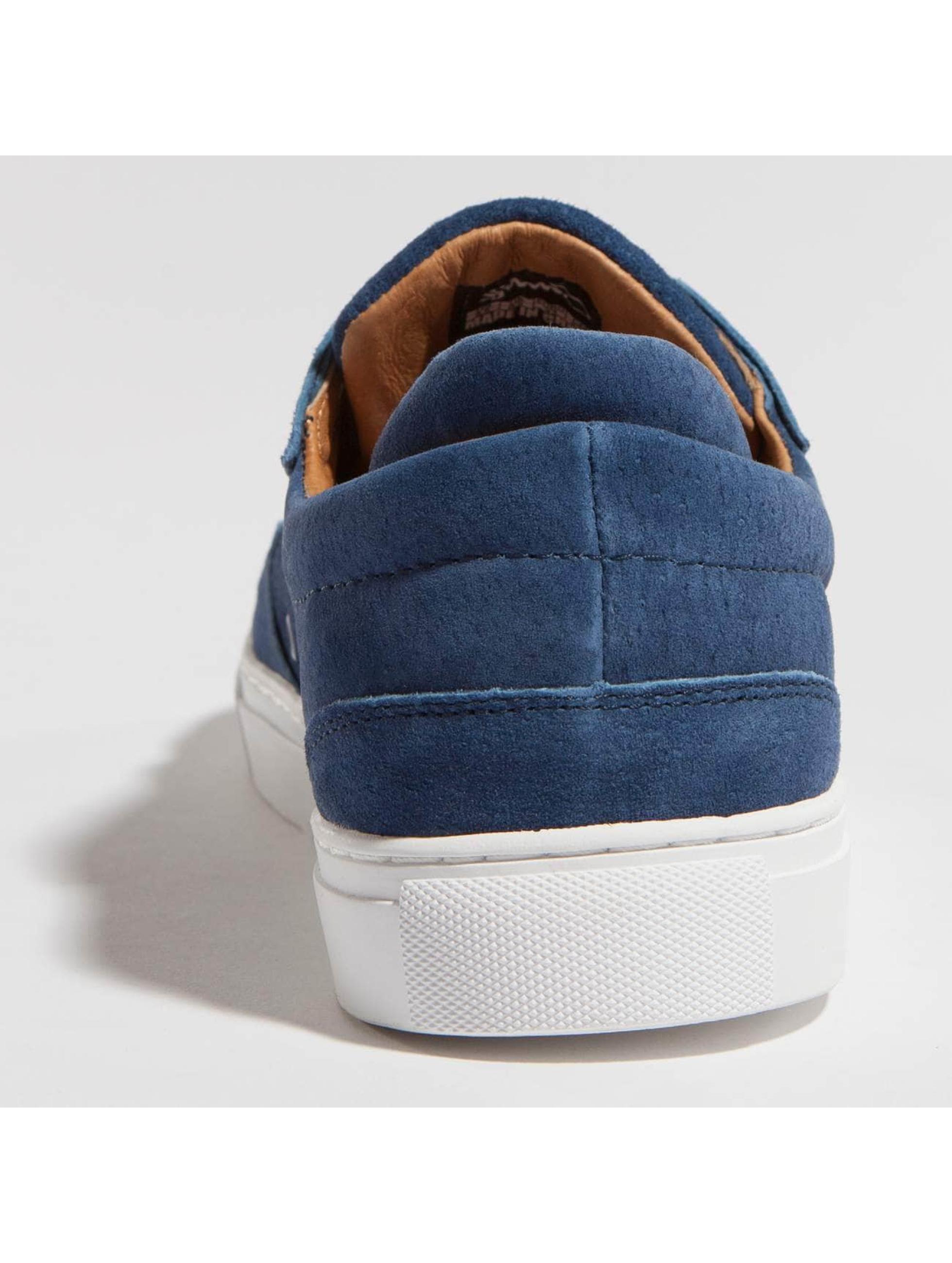Djinns Baskets Awaike Suede bleu