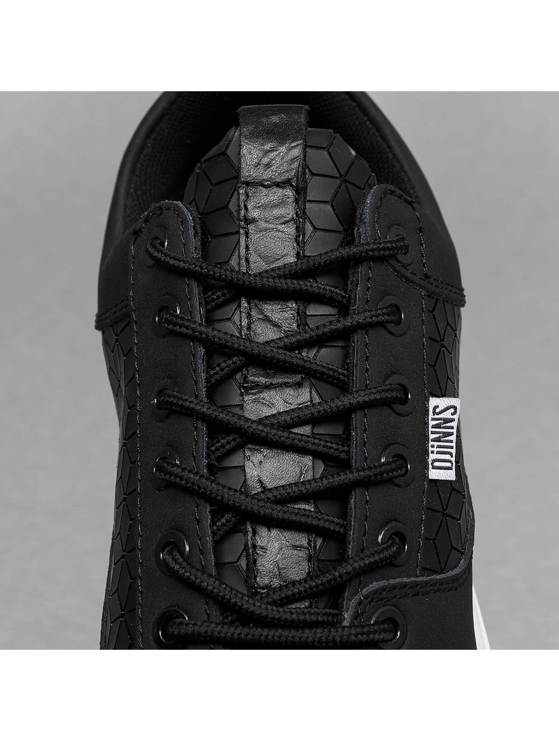 Djinns Baskets Forlow Rubber Croc noir