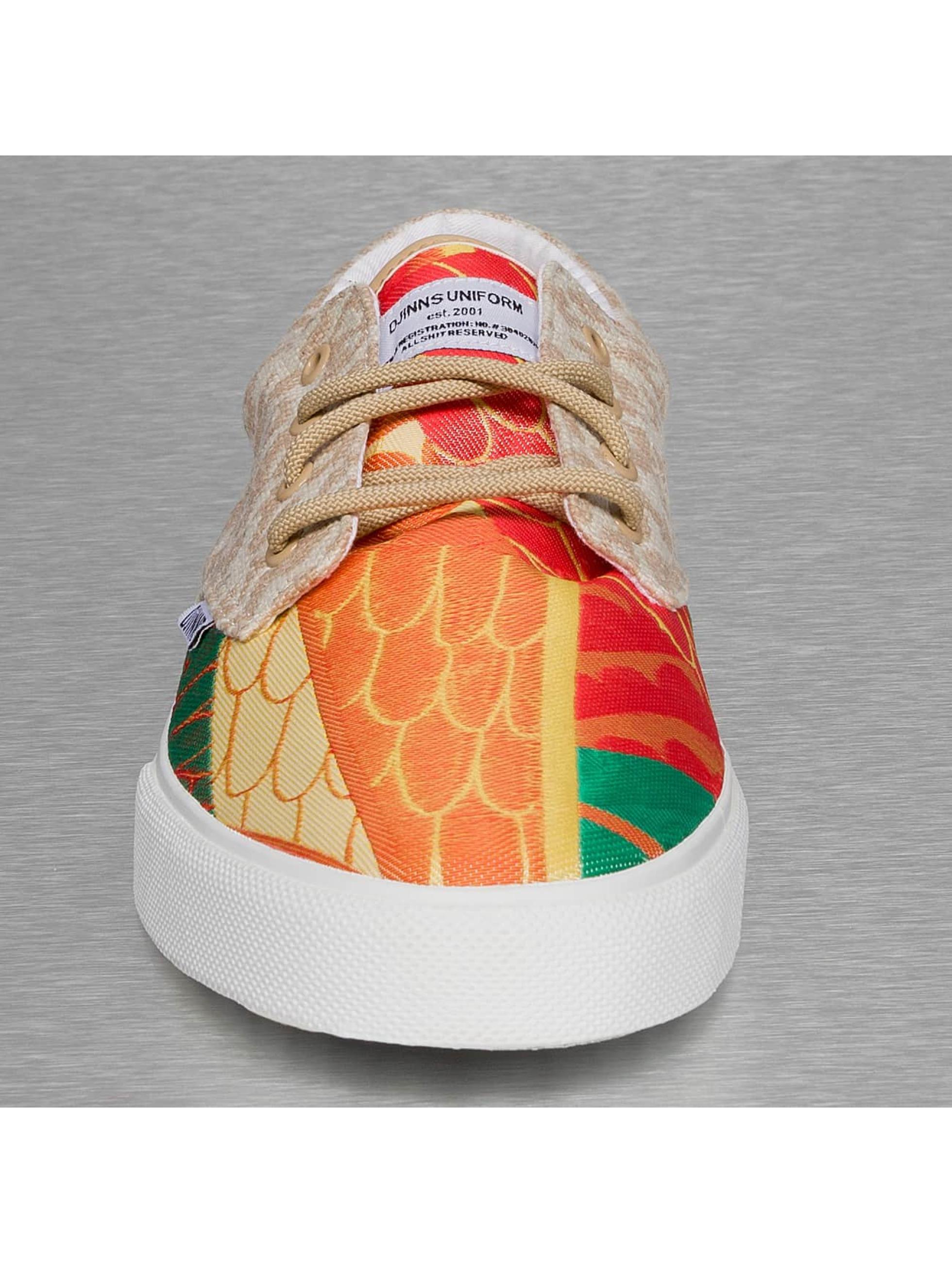 Djinns Baskets Crazy Pattern rouge