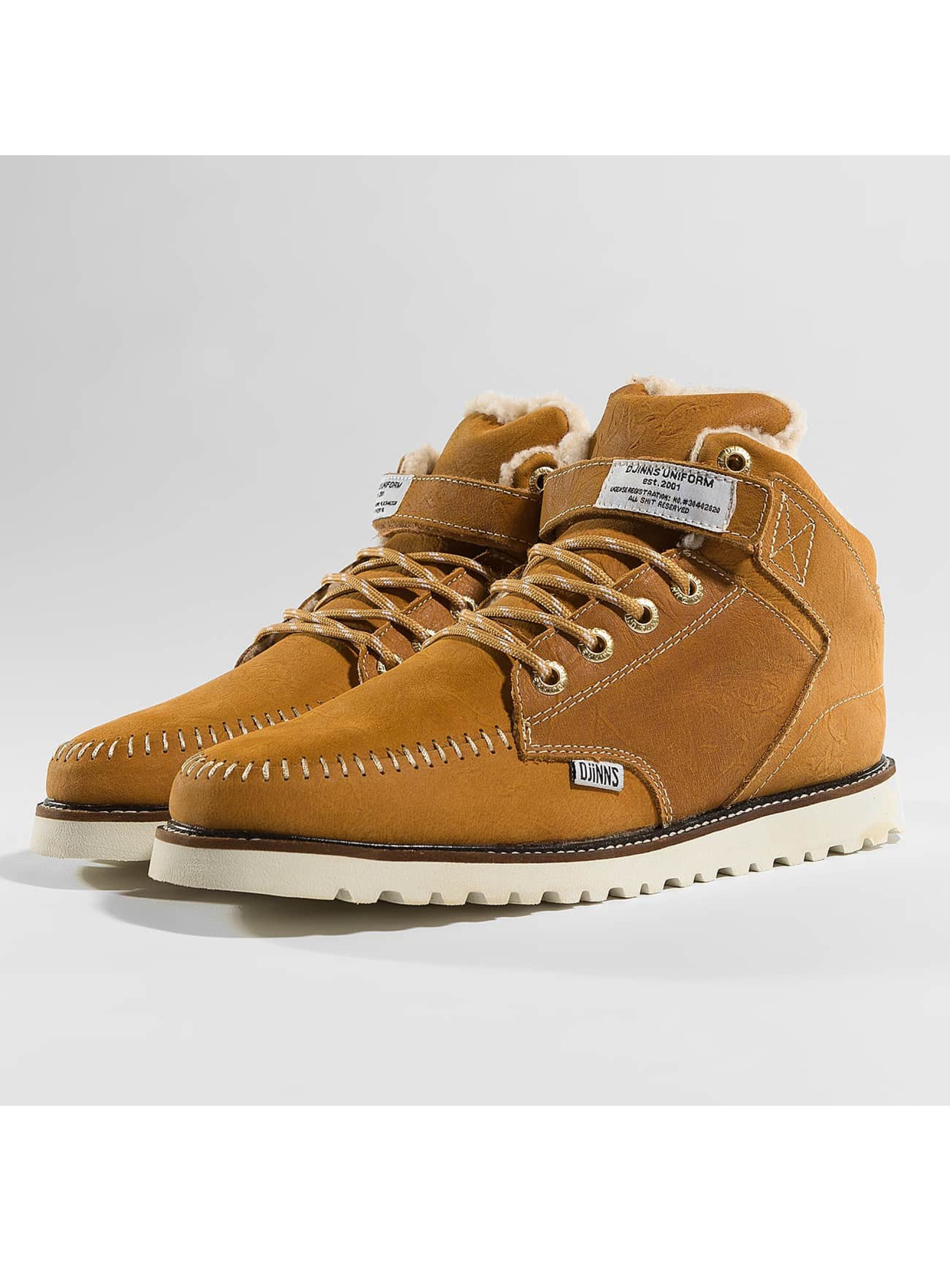 Djinns Boots Wunk Fur Deff marrón
