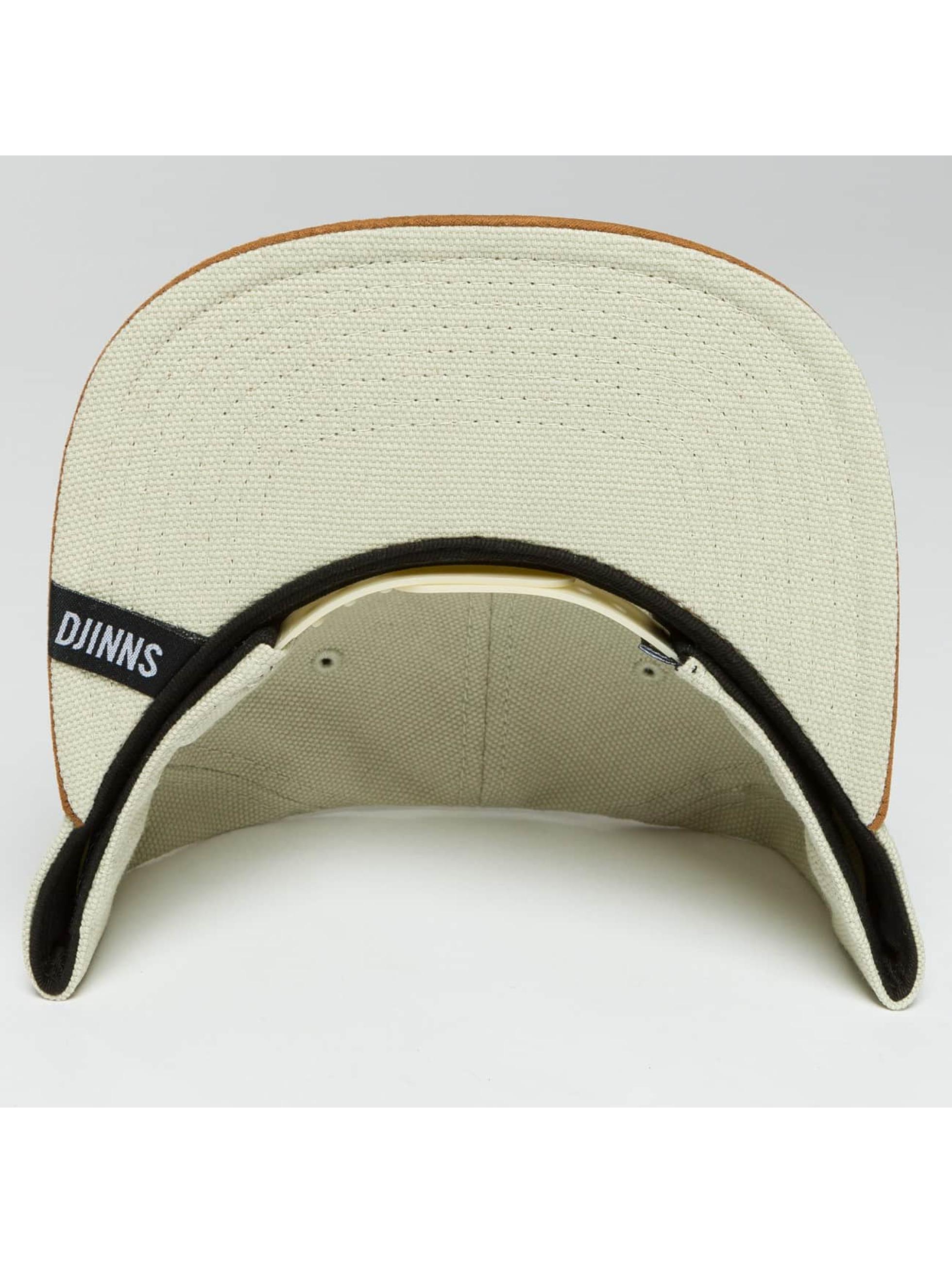 Djinns Casquette Snapback & Strapback 6 Panel Light Canvas beige