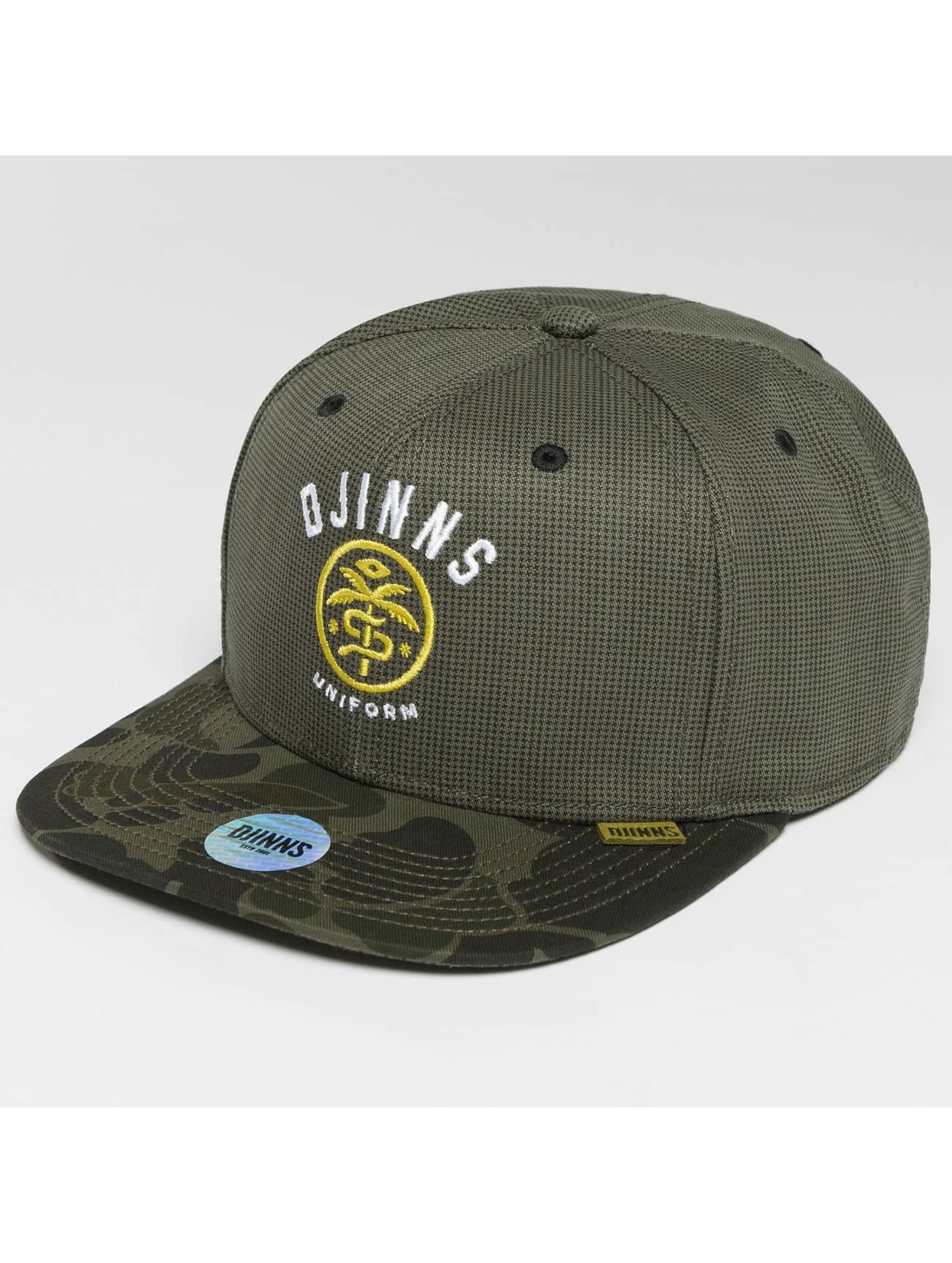 Djinns Casquette Snapback & Strapback Camo Snake 6 Panel camouflage