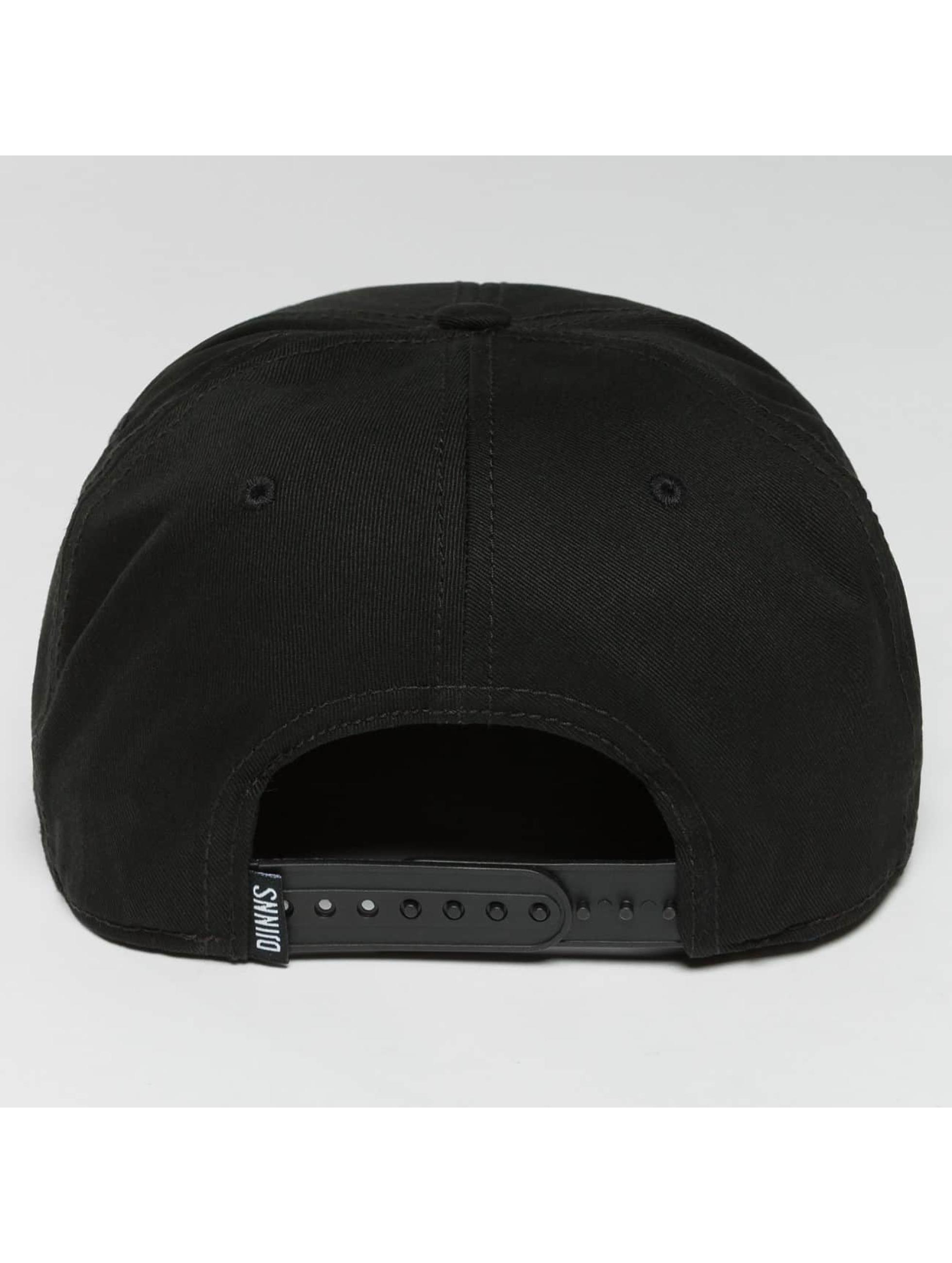 Djinns Casquette Snapback & Strapback TriCord 6 Panel noir