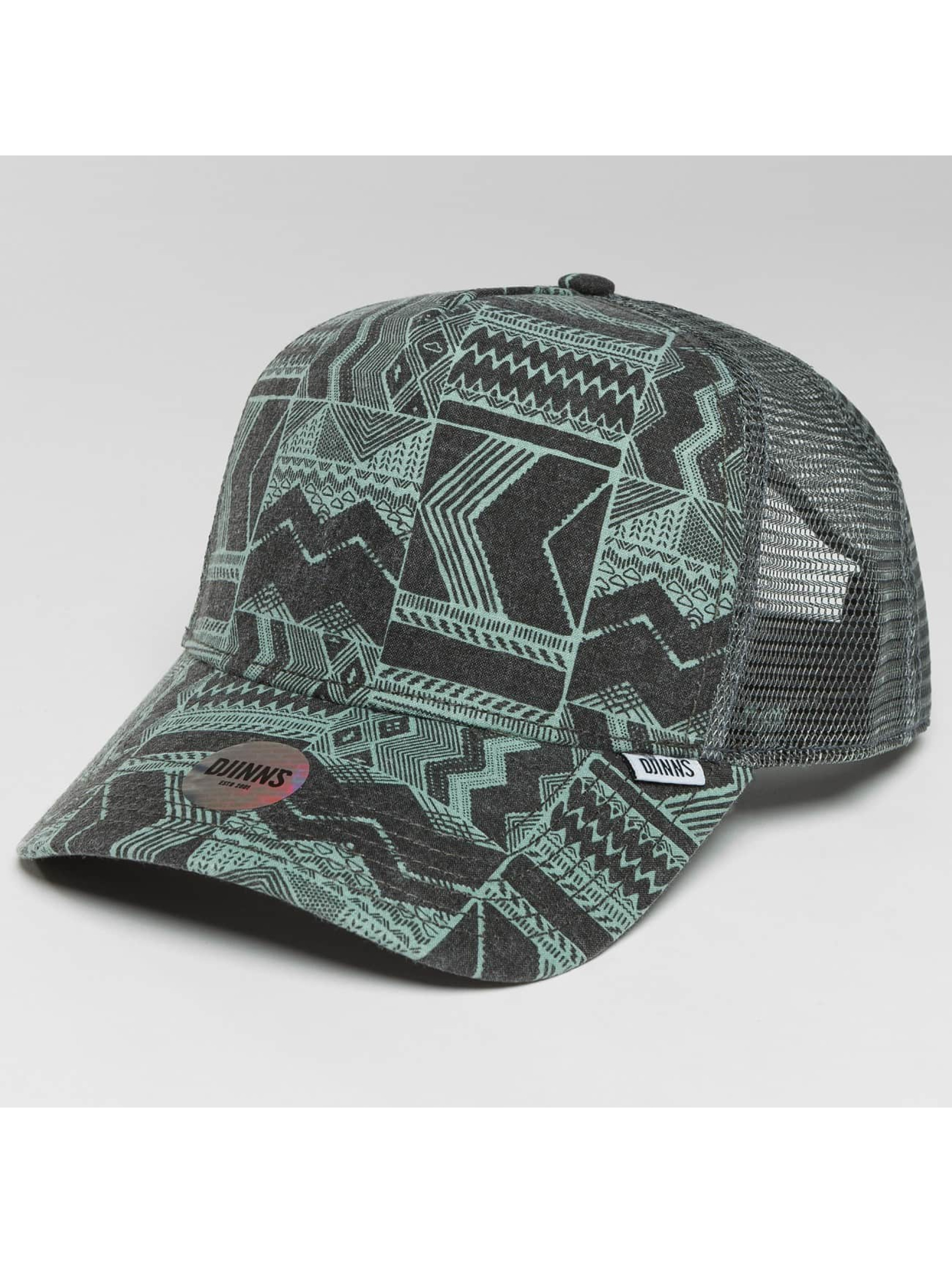 Djinns Casquette Trucker mesh HFT We Love Ugly gris